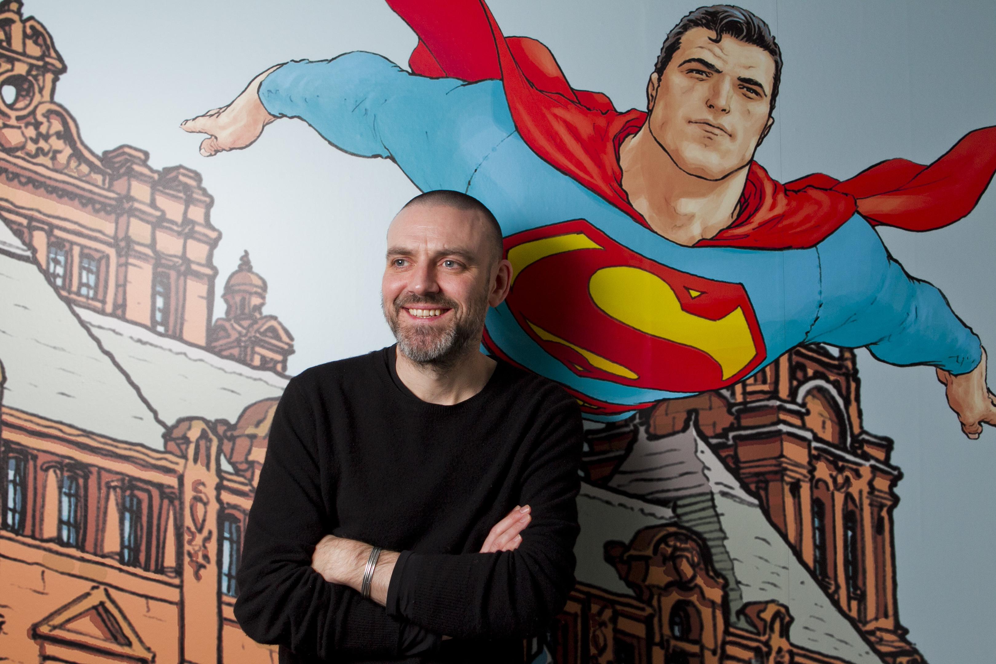 Comic artist Frank Quitely (Andrew Cawley / DC Thomson)