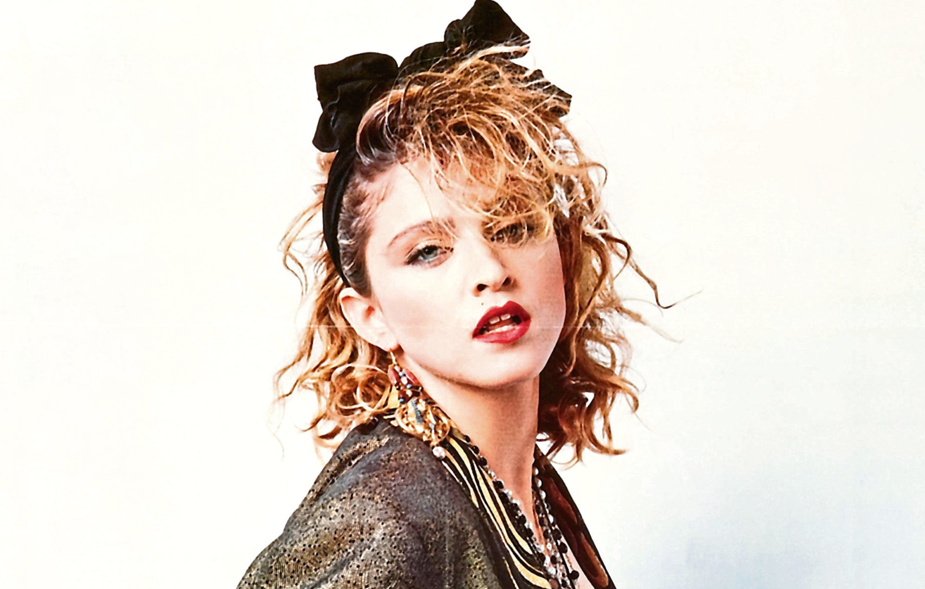 Madonna on the poster of Desperately Seeking Susan, 1985 (Allstar/ORION PICTURES)