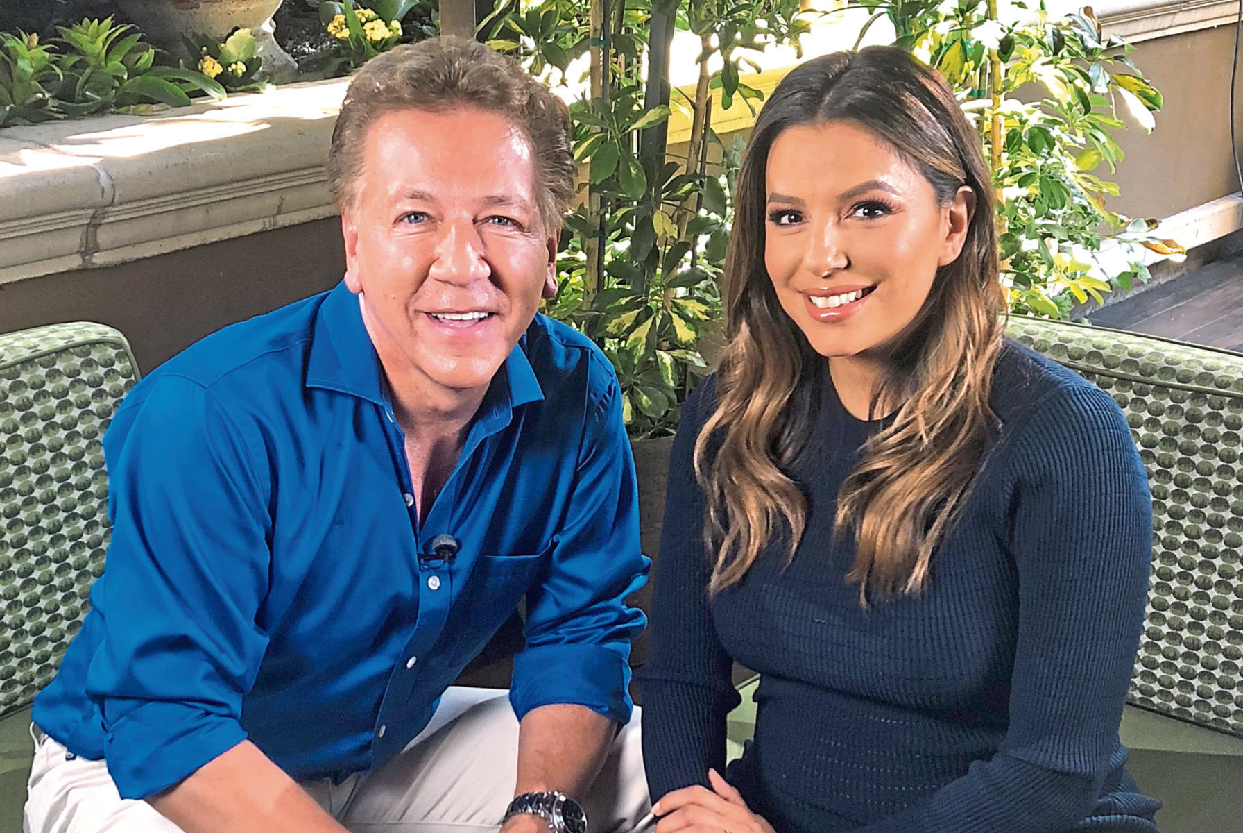Ross King and Eva Longoria
