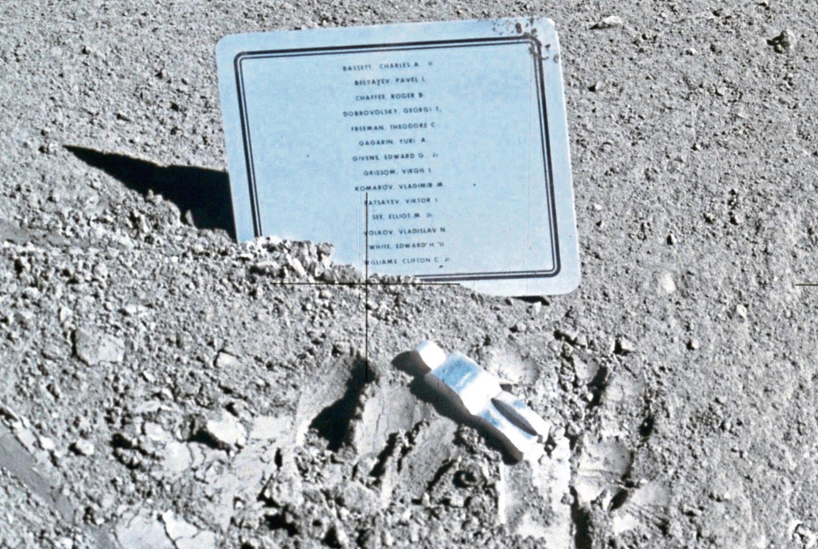 Fallen Astronaut by Van Hoeydonck