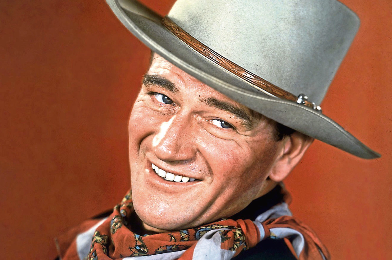 John Wayne in Tall In The Saddle, 1944 (Allstar/RKO)