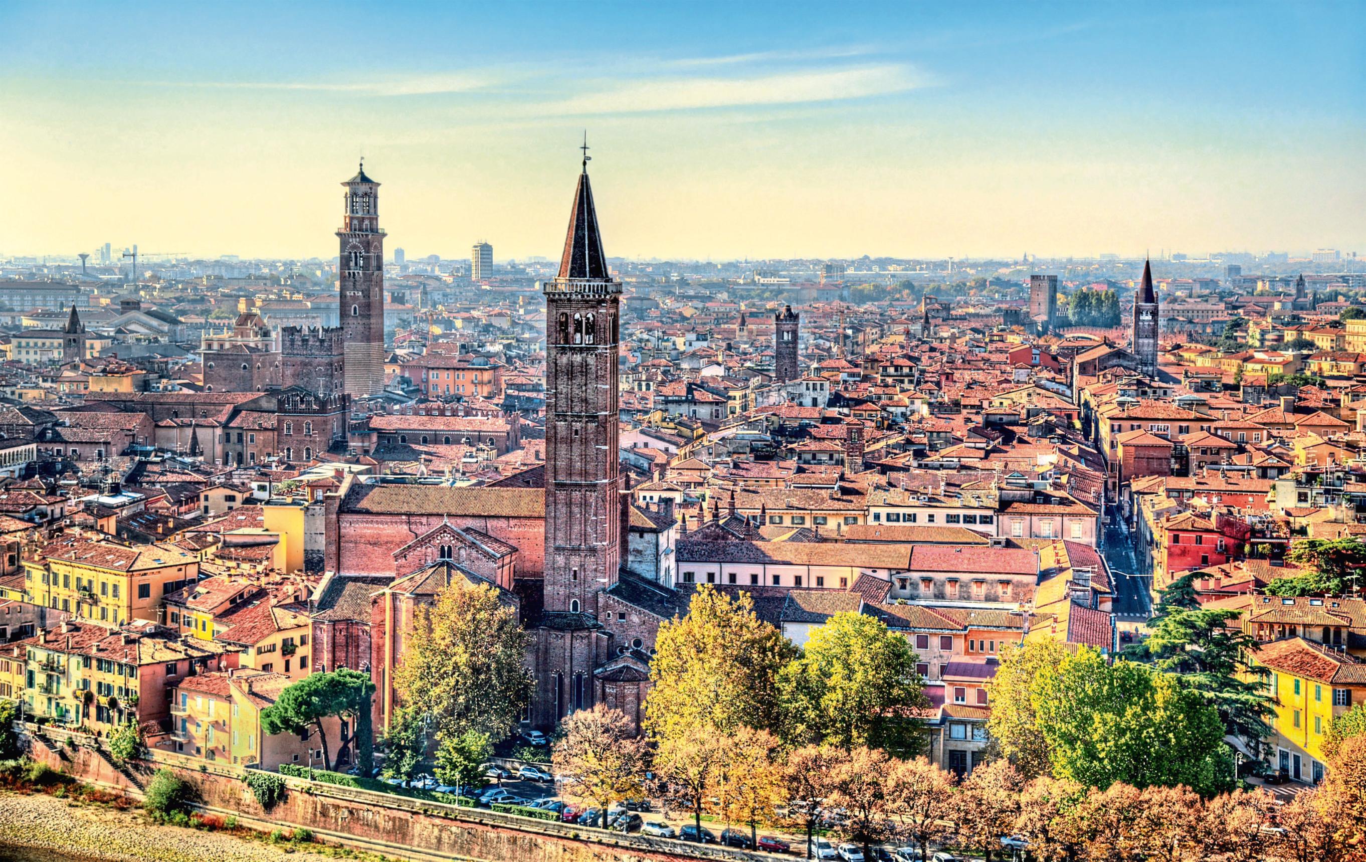 The historic centre of Verona