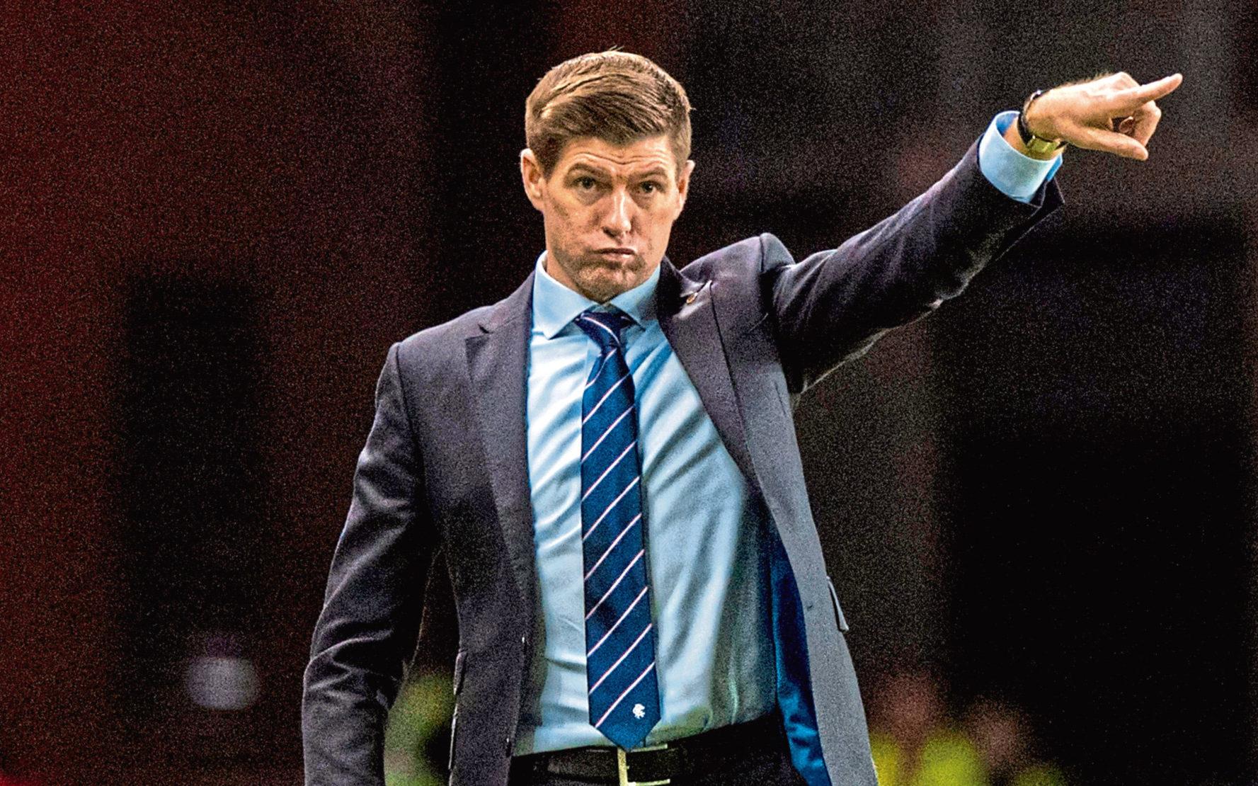 Rangers boss Steven Gerrard admits he hasn t given Celtic clash a ... 708fef480146
