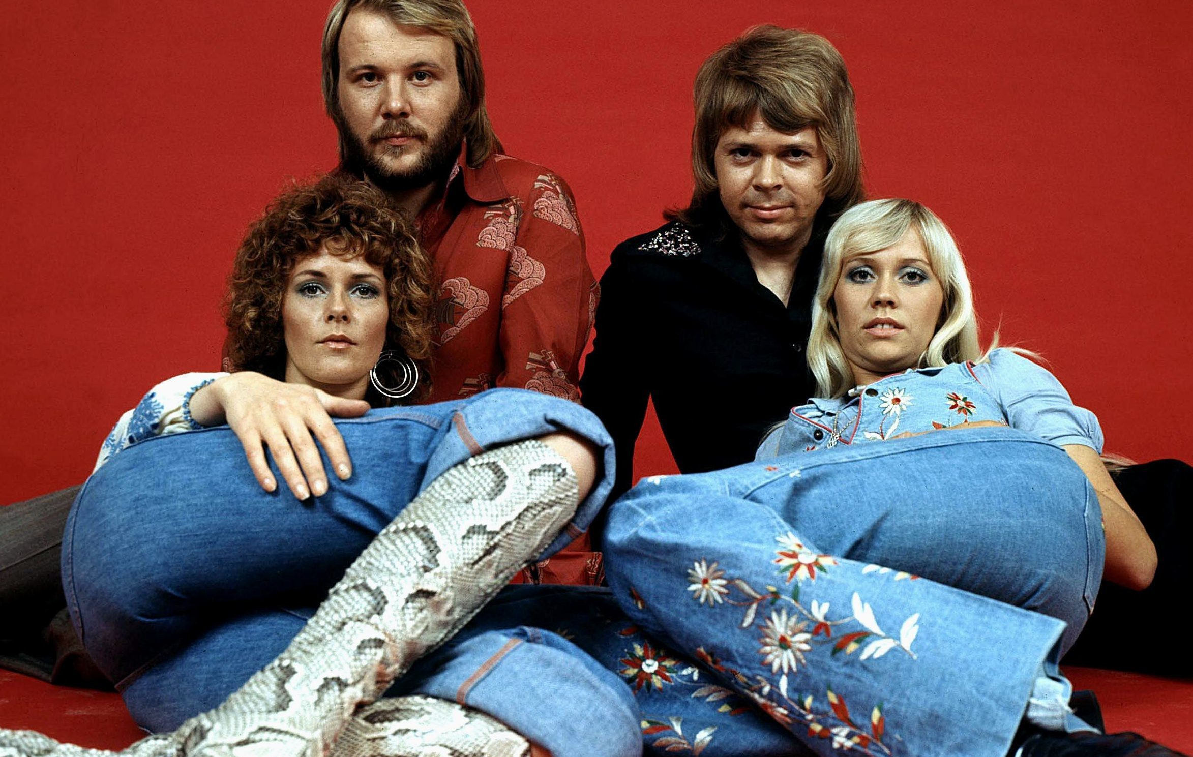 ABBA in 1977 (Allstar Collection)