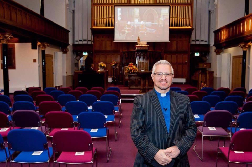 Reverend Scott Burton of St Matthew's Church of Scotland, Perth