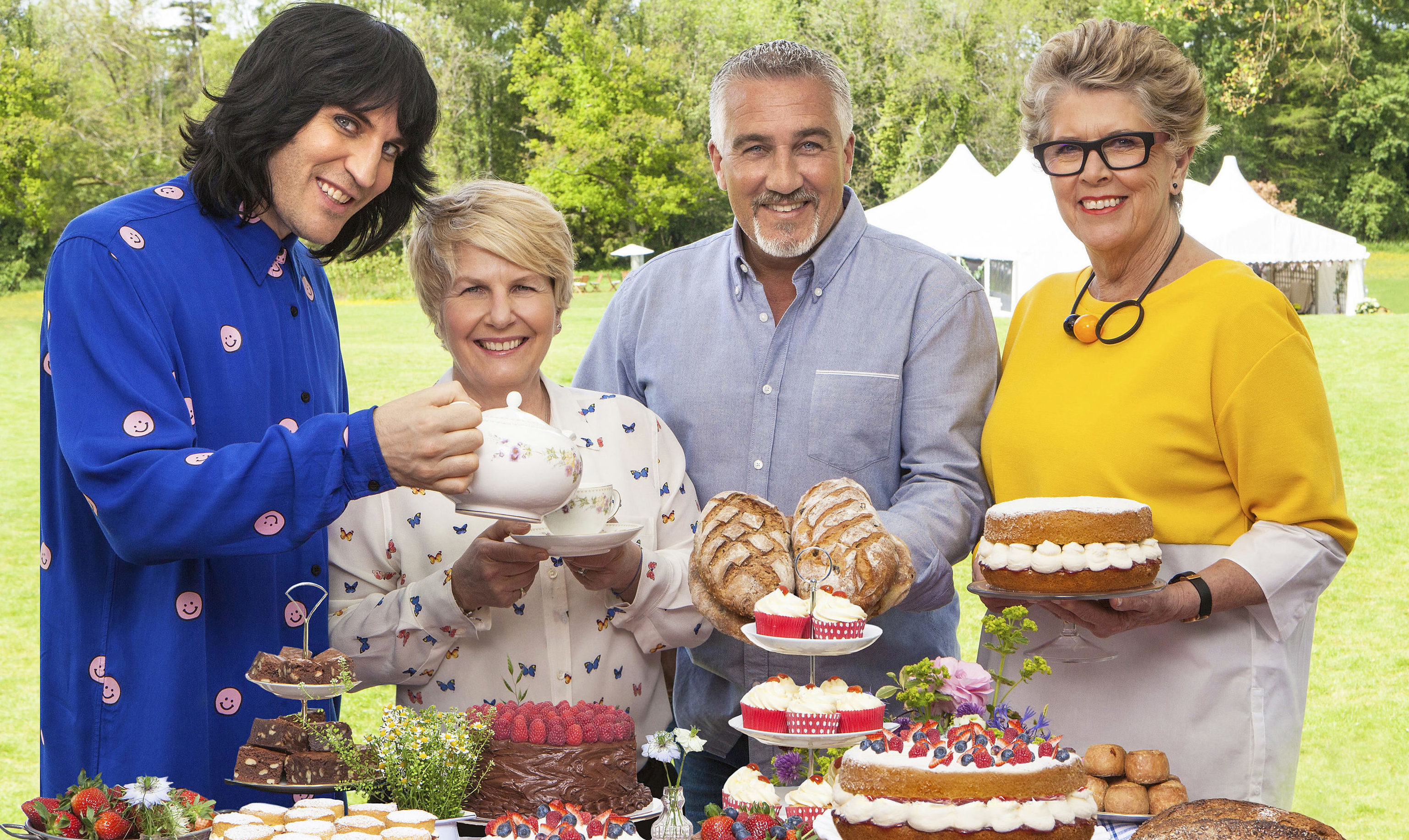 The bakeoff gang return to screens a week today. (Channel 4/PA Wire)