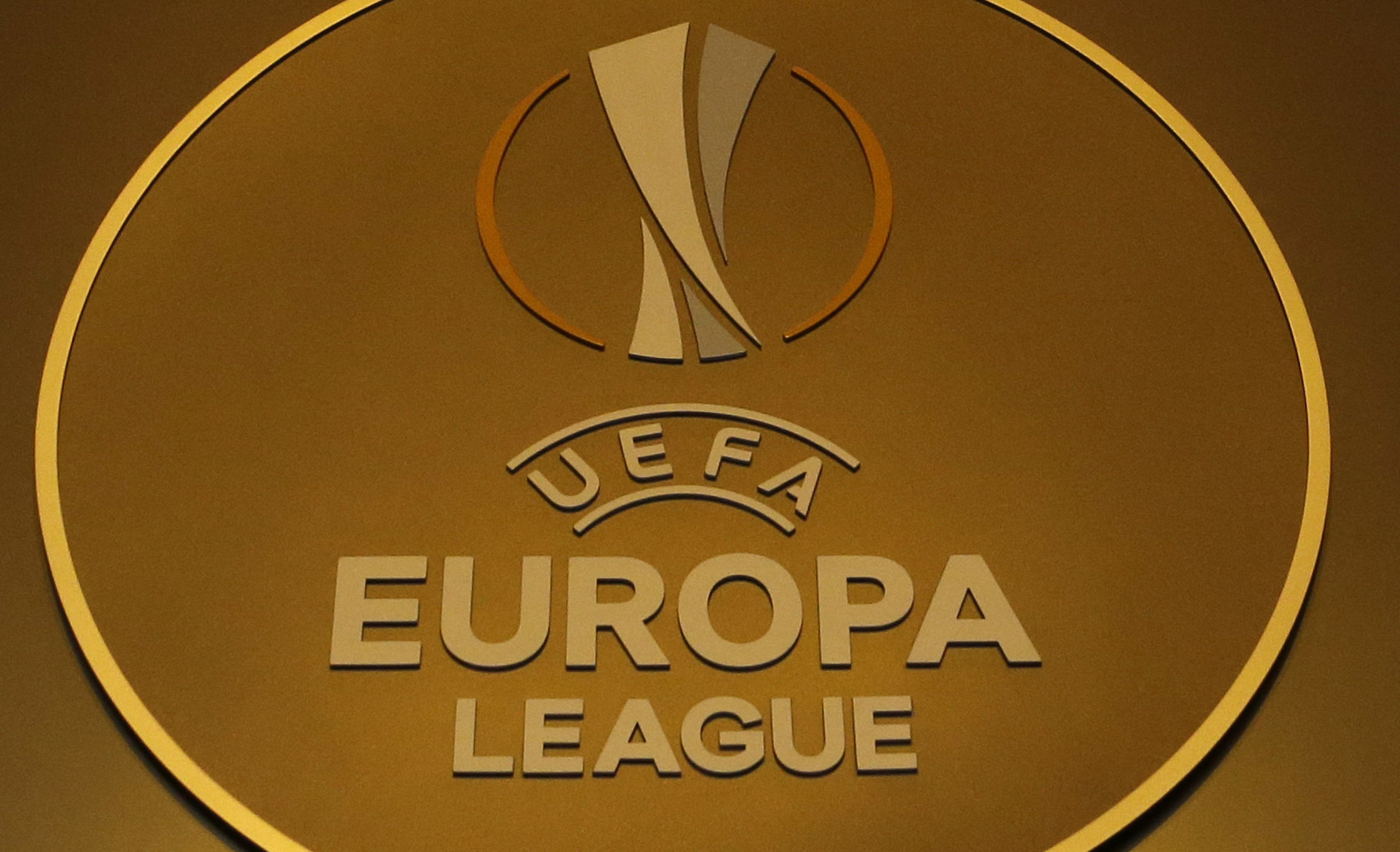 The UEFA Europa League . (AP Photo/Claude Paris)