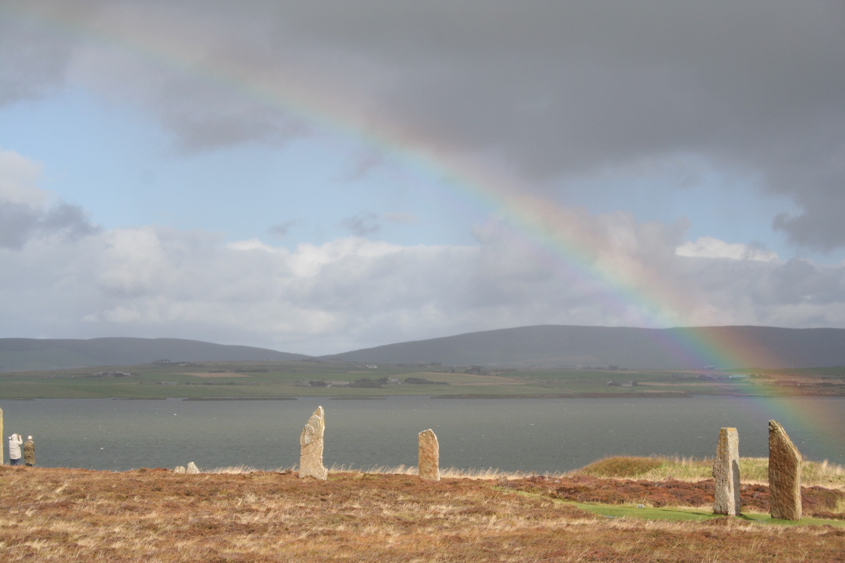 The Ring of Brodgar on Orkney