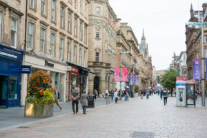 Discounts help drive increase in sales on Scotland's high streets