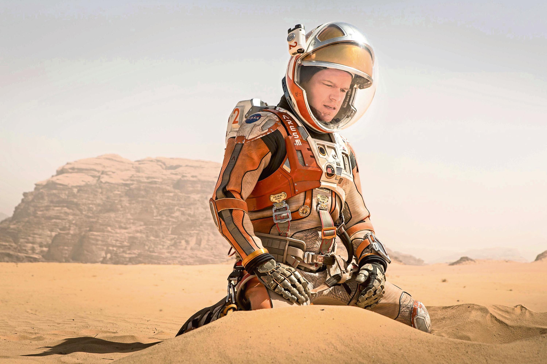 Matt Damon in The Martian (PA Photo/Twentieth Century Fox/Giles Keyte)