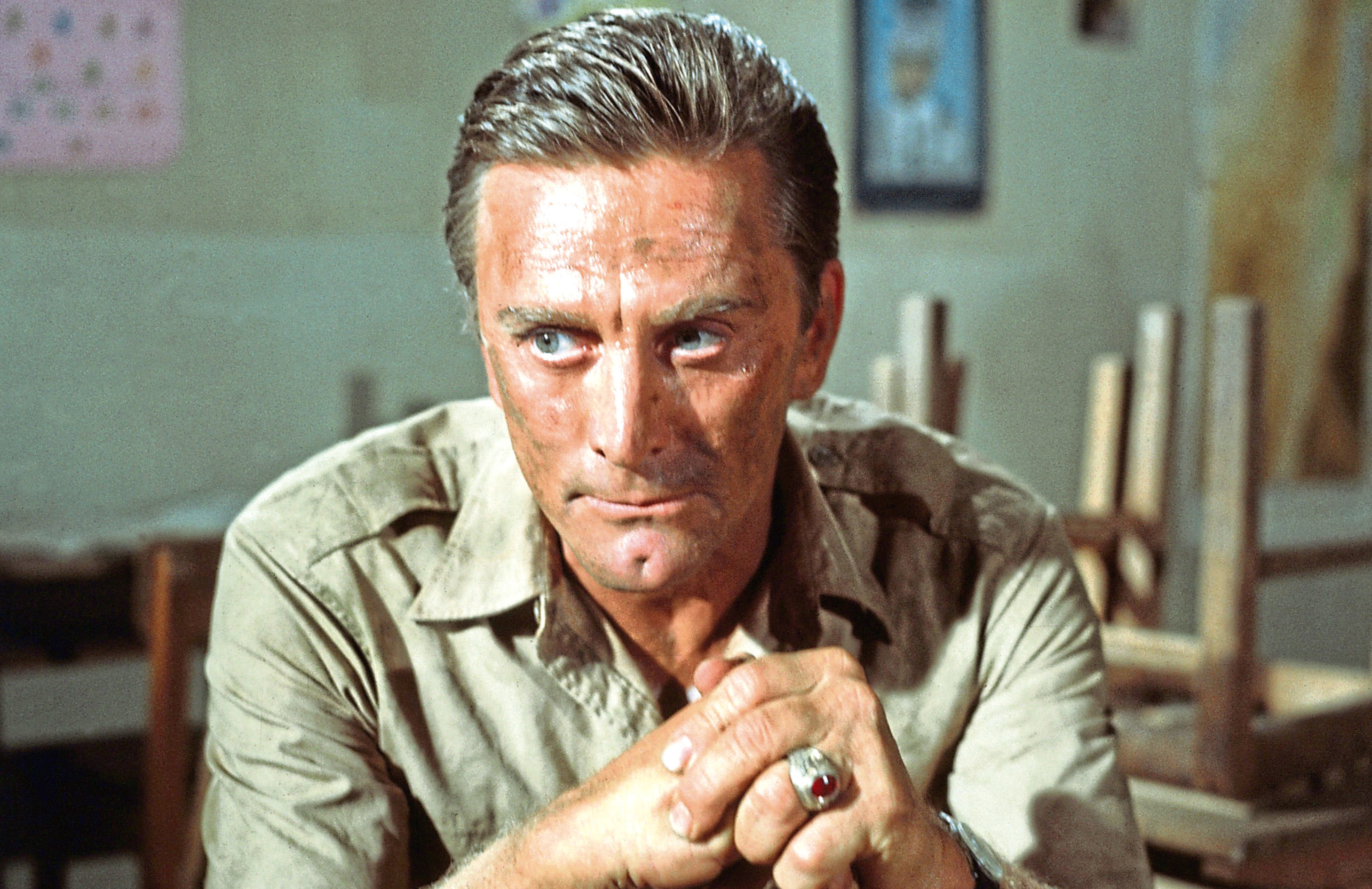 Kirk Douglas in Cast A Giant Shadow, 1966 (Allstar/UNITED ARTISTS)