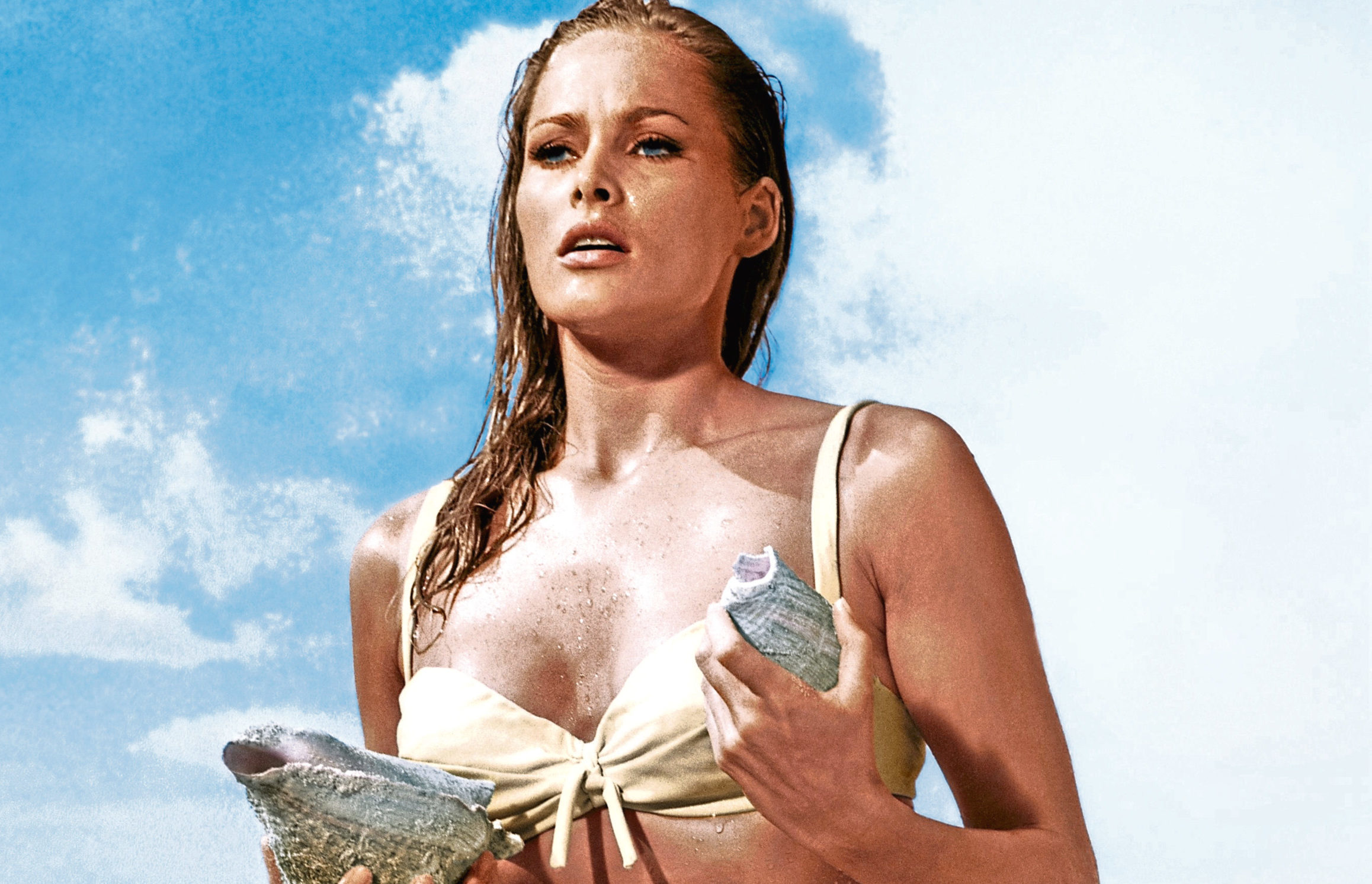 Ursula Andress as Honey Ryder in Dr No, 1962 (Allstar/UNITED ARTISTS)