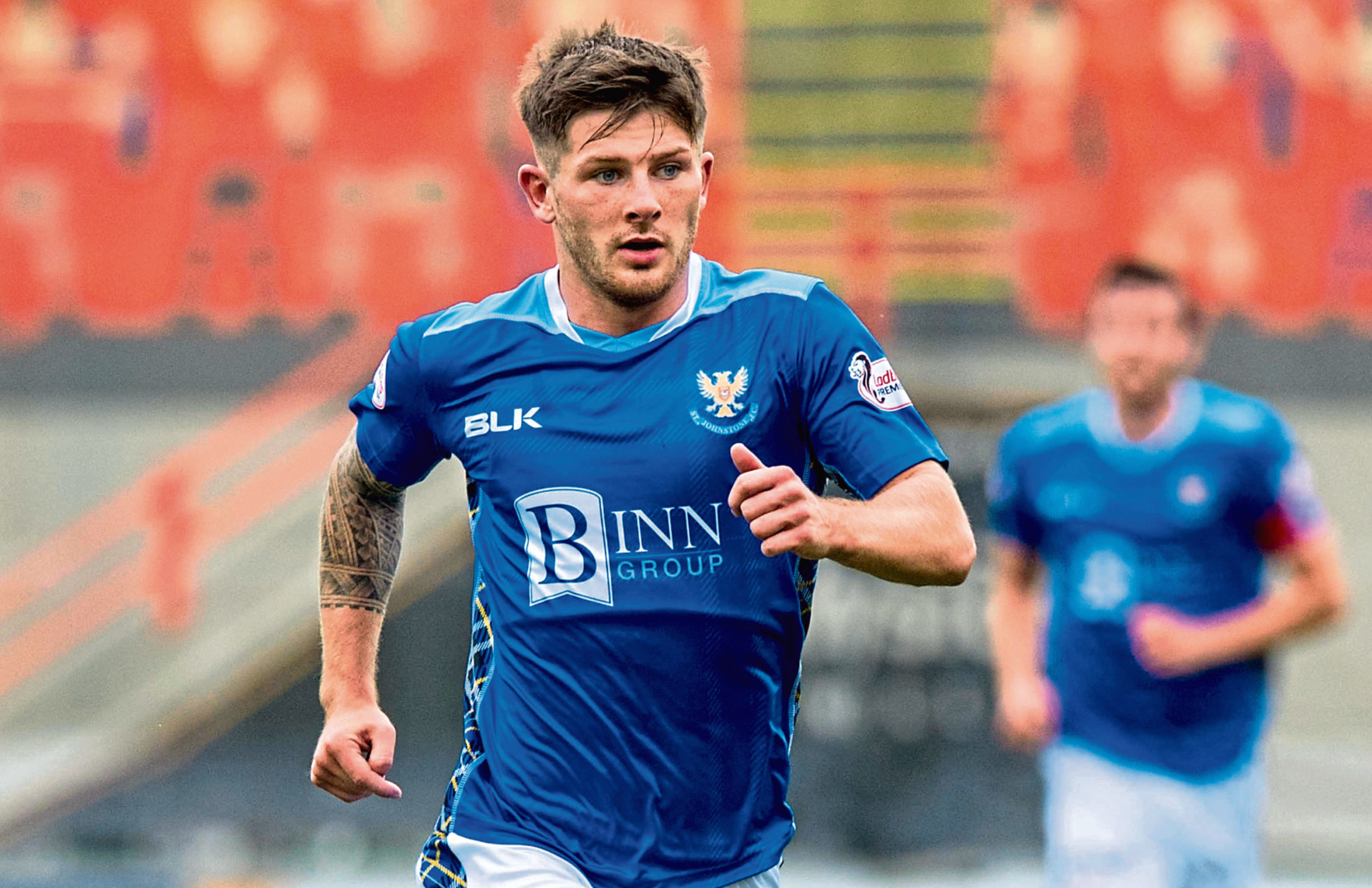 Matthew Kennedy in action for St. Johnstone (SNS Group)