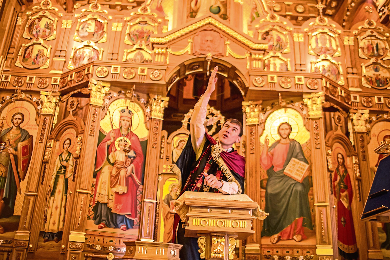 Inside ex-Ukraine president Viktor Yanukovych's private chapel (Brendan Hoffman/Getty Images)