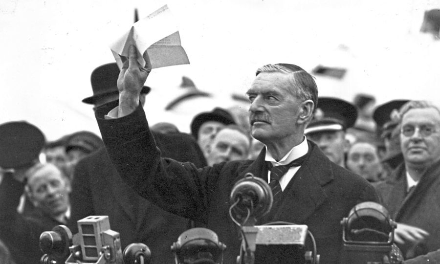On This Day 1938 Peace For Our Time Was A Hollow Boast By Neville