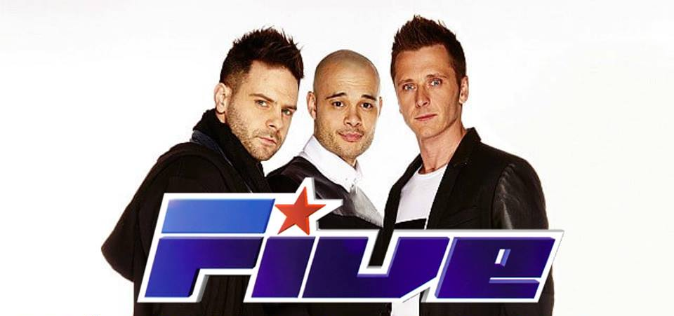 90s boyband 5ive will headline the Argyll 90s Weekender, along with East 17 and Sonique
