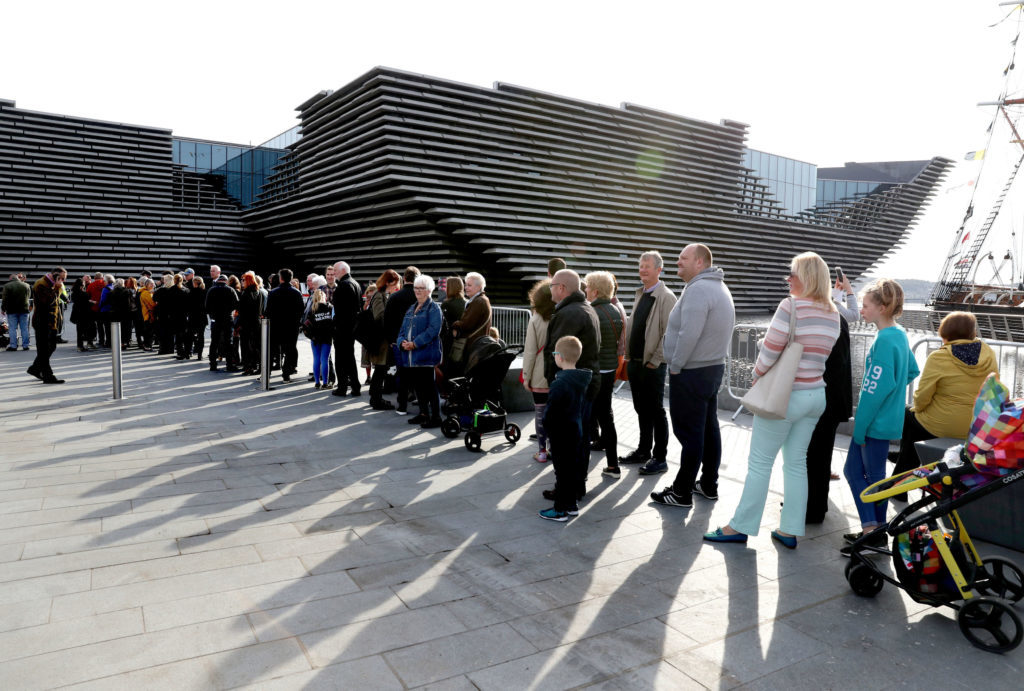 Dundee's new V&A museum enjoyed by over 27,000 visitors in just one week - Sunday Post