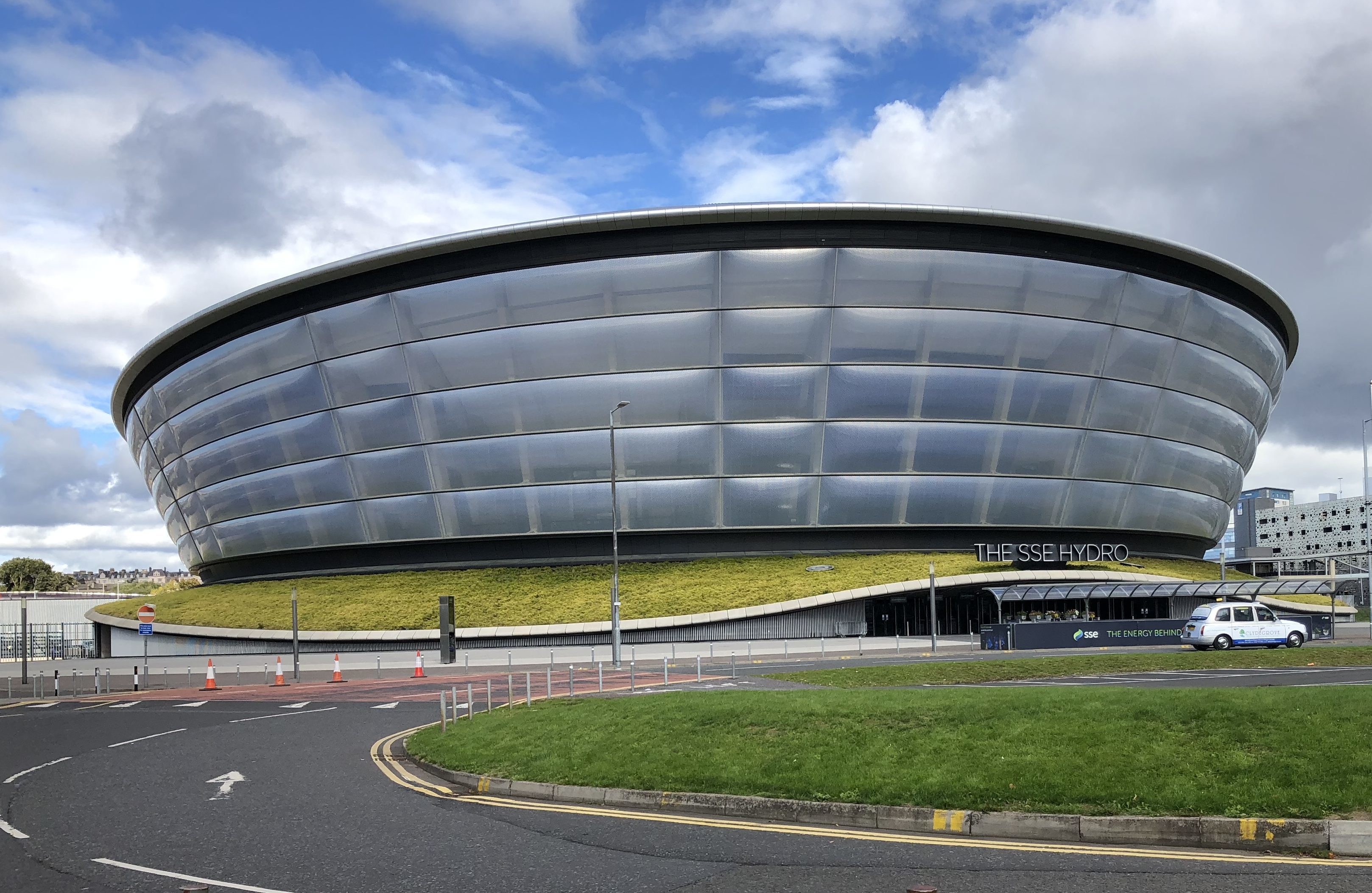 Glasgow's SSE Hydro arena (Ross Crae / DC Thomson)