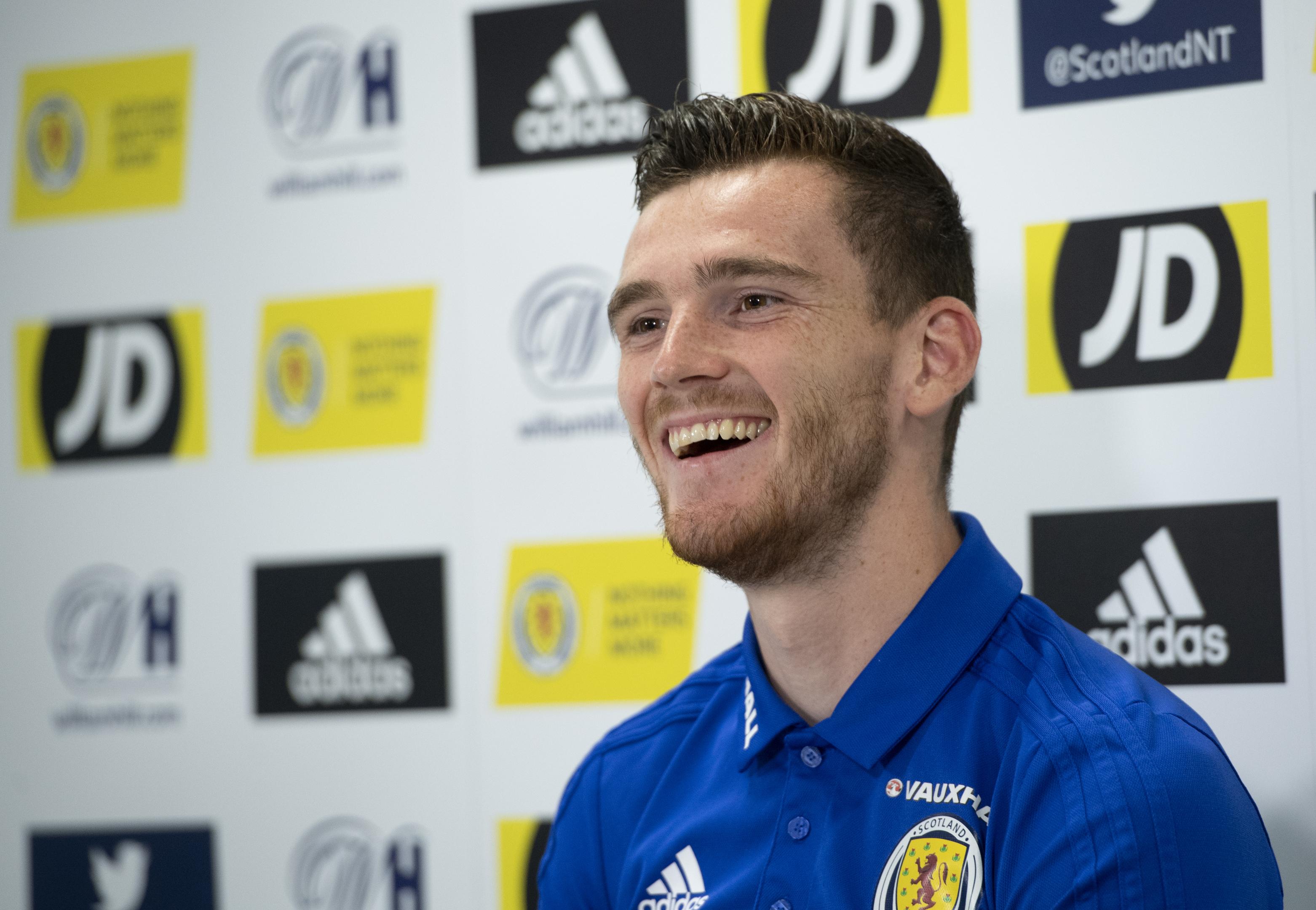 Scotland captain Andy Robertson (SNS Group / Craig Williamson)