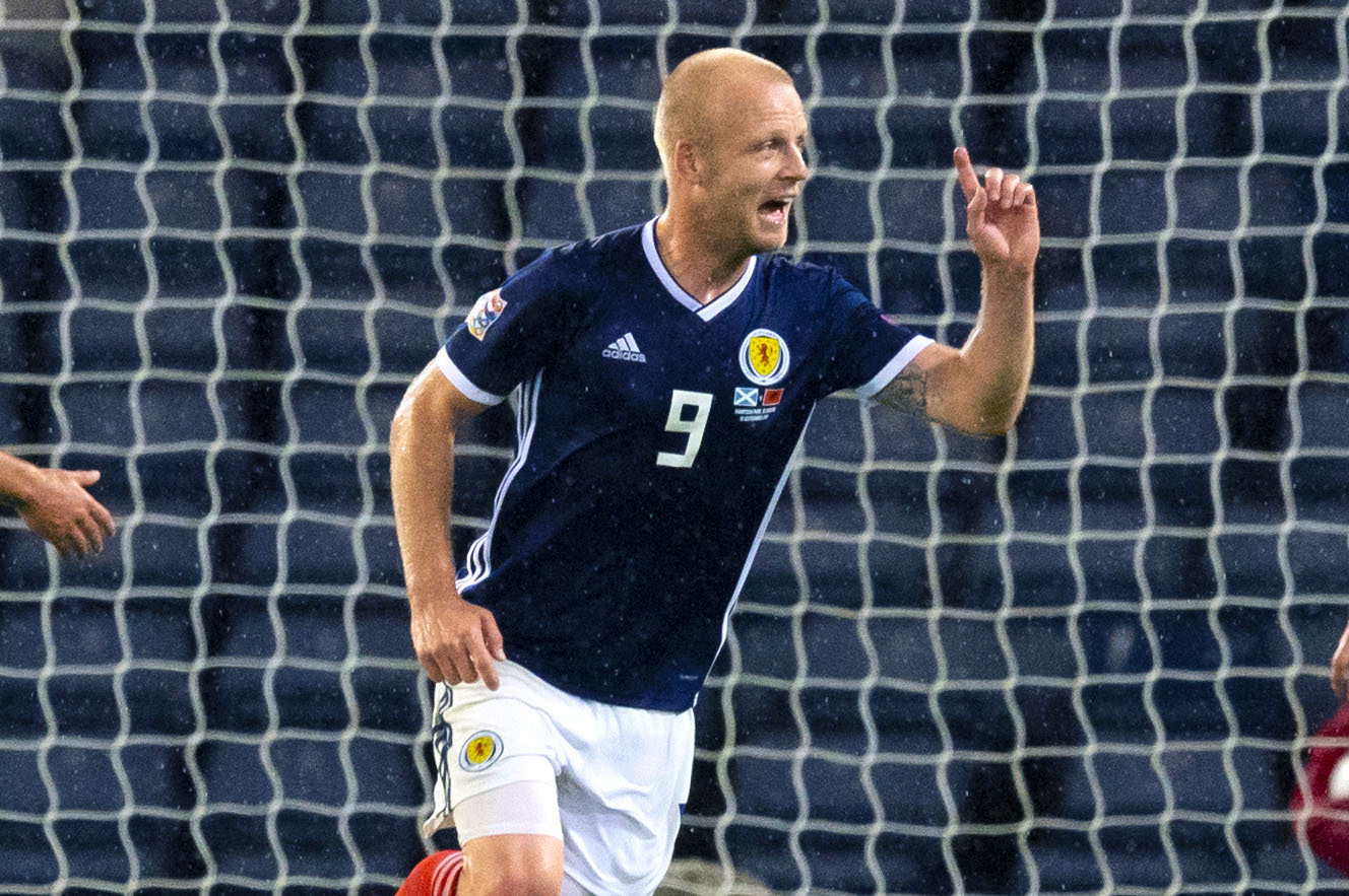 Scotland's Steven Naismith (SNS Group /Alan Harvey)