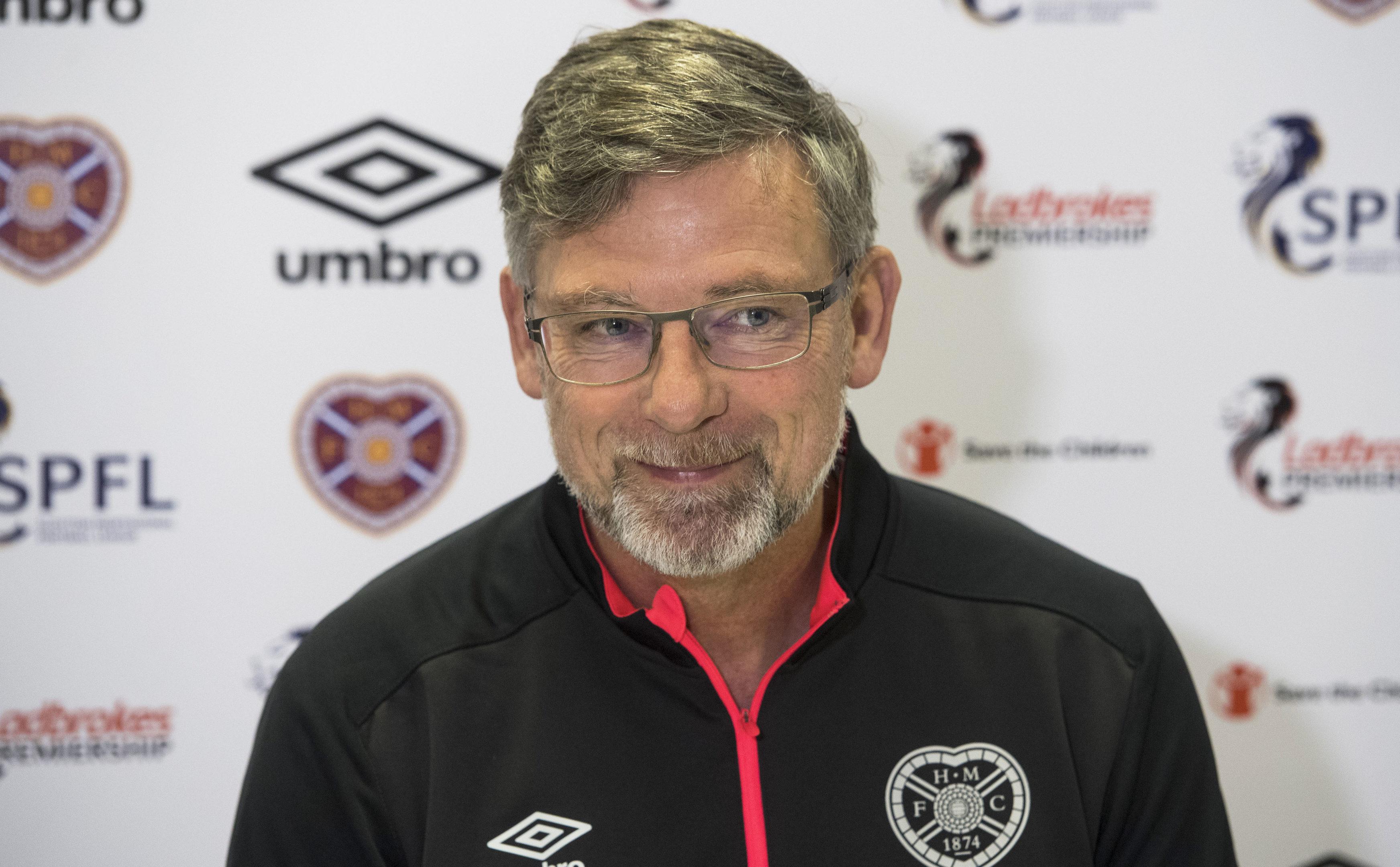 Hearts manager Craig Levein (SNS Group / Paul Devlin)