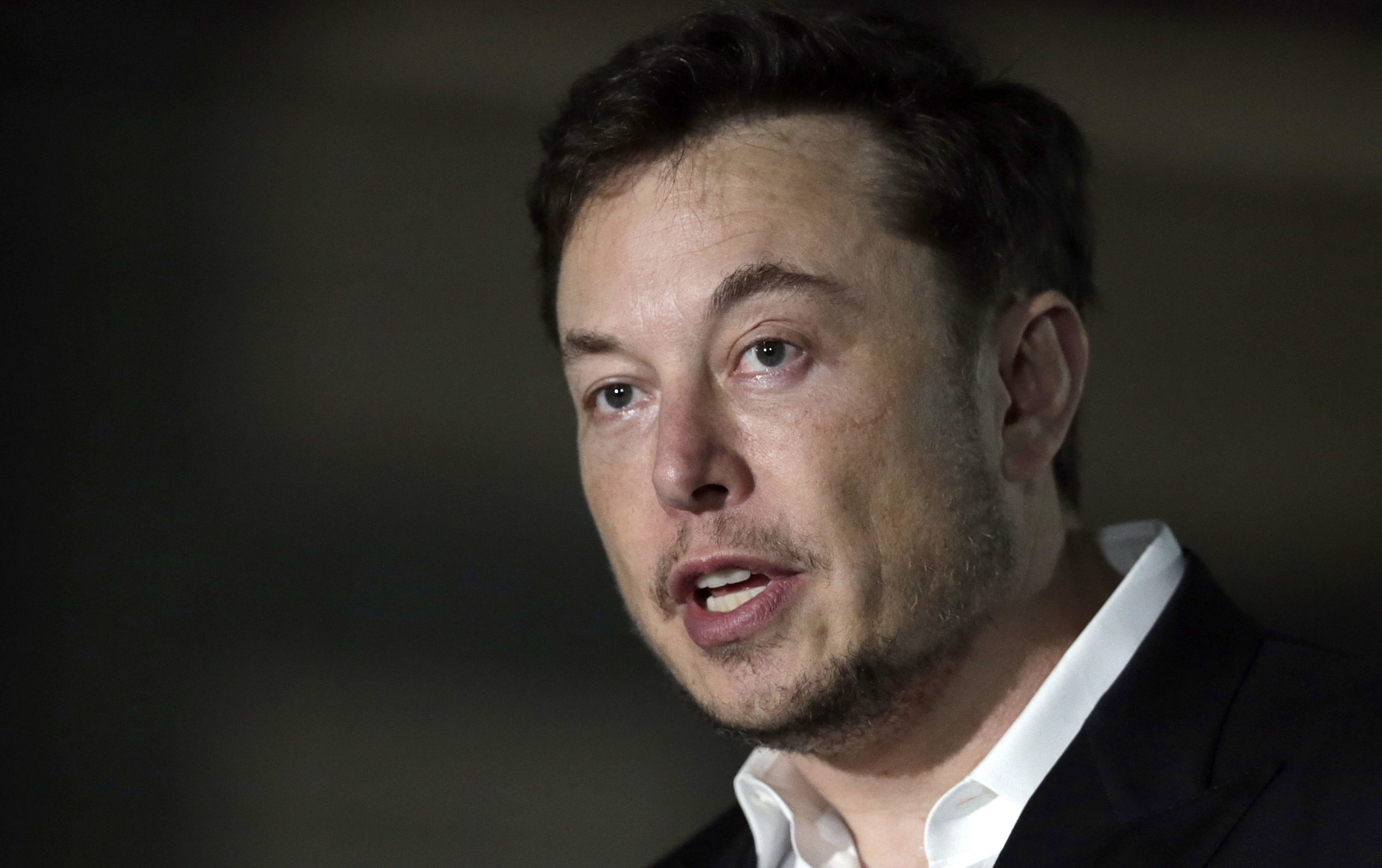 Elon Musk (AP Photo/Kiichiro Sato, File)