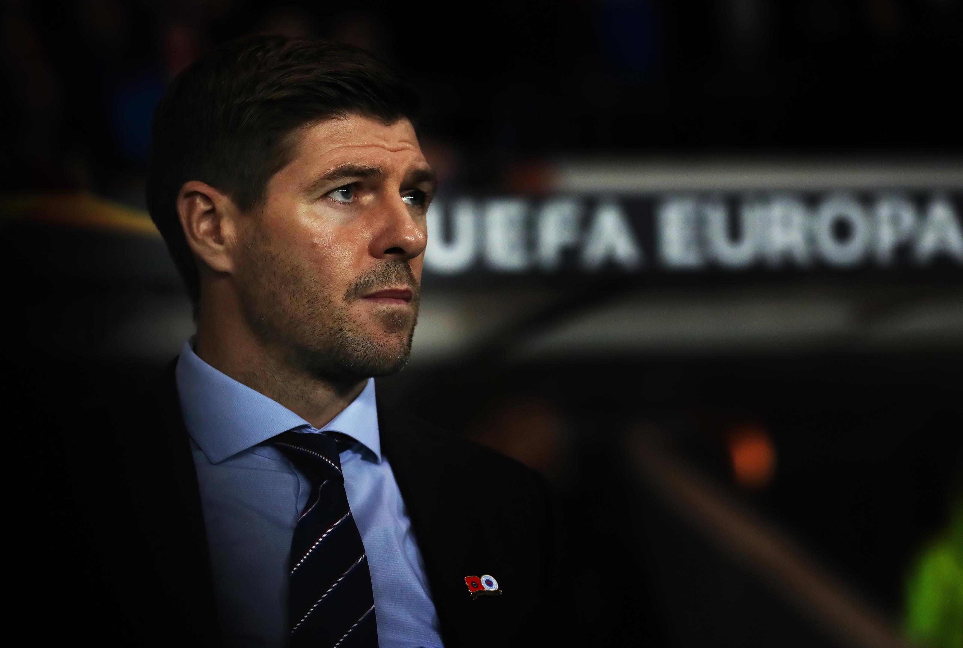Rangers manager Steven Gerrard (Ian MacNicol/Getty Images)