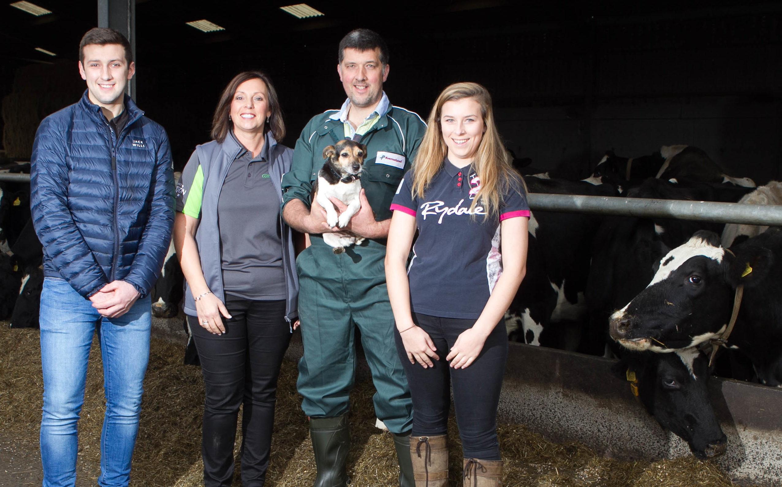 Corton Farm, run by the Kerr family (Chris Austin/ DC Thomson)