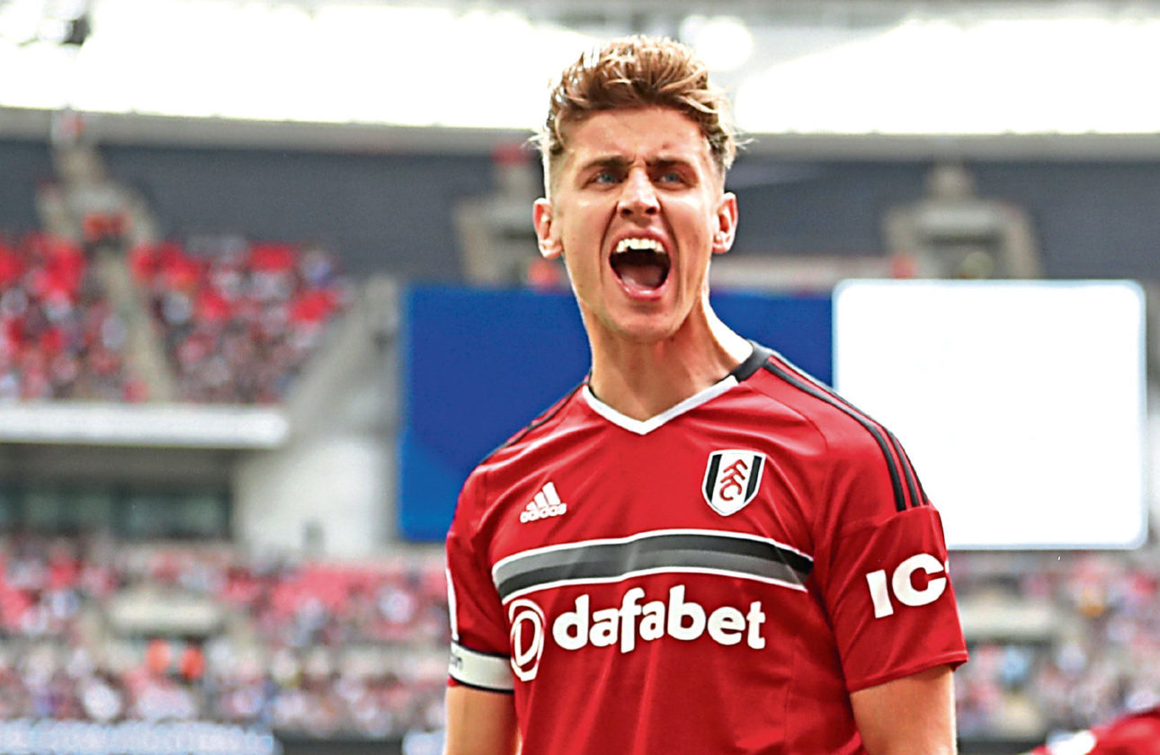 There is no chance Tom Cairney will desert Scotland for the Auld Enemy, says his Fulham team-mate Kevin McDonald (Dan Istitene/Getty Images)