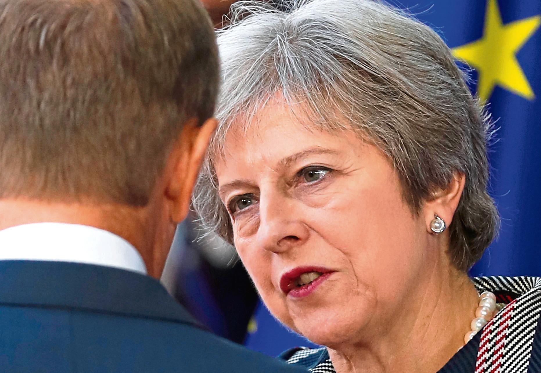Theresa May (AP Photo/Alastair Grant)