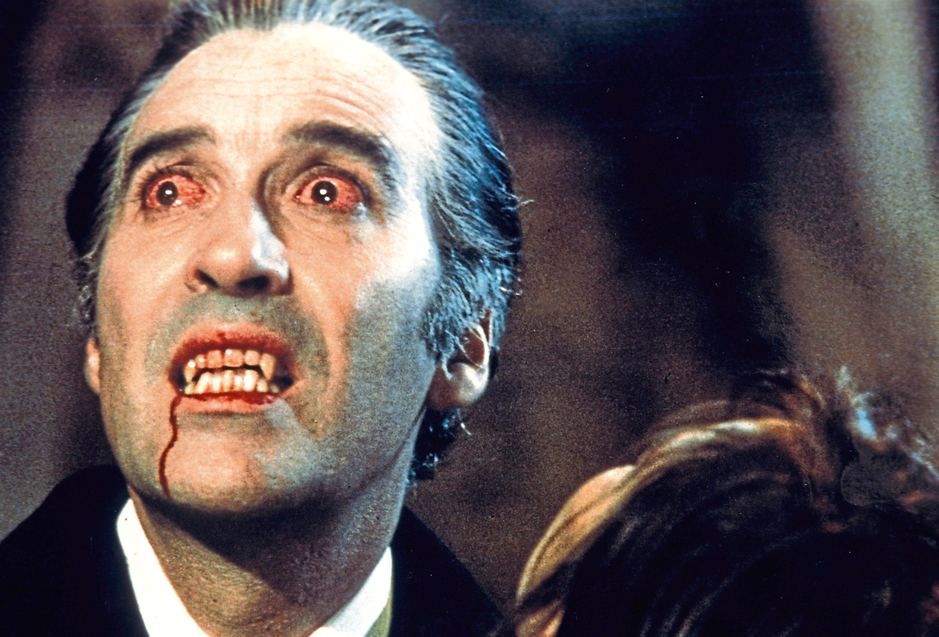 Christopher Lee as Dracula, 1958 (Allstar / HAMMER FILM )