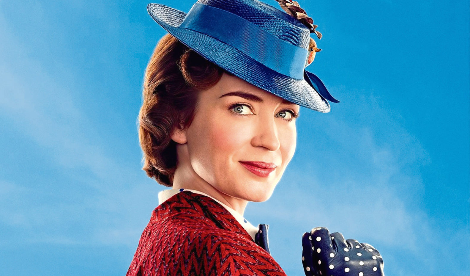 Emily Blunt as Mary Poppins in the remake of the film. (All Star/Walt Disney)