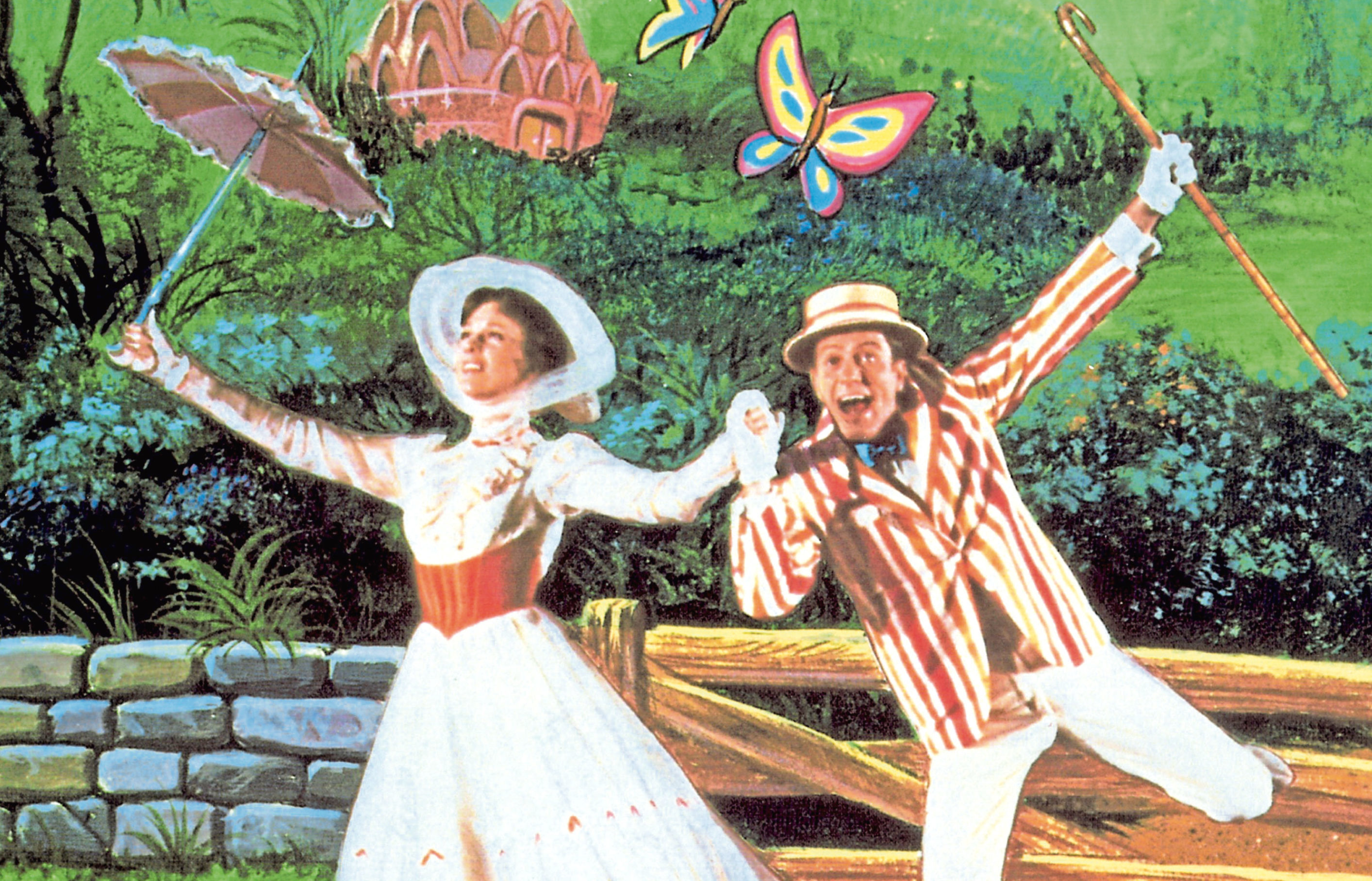 Julie Andrews and Dick Van Dyke in a scene from the original movie (Allstar/WALT DISNEY PRODUCTIONS)