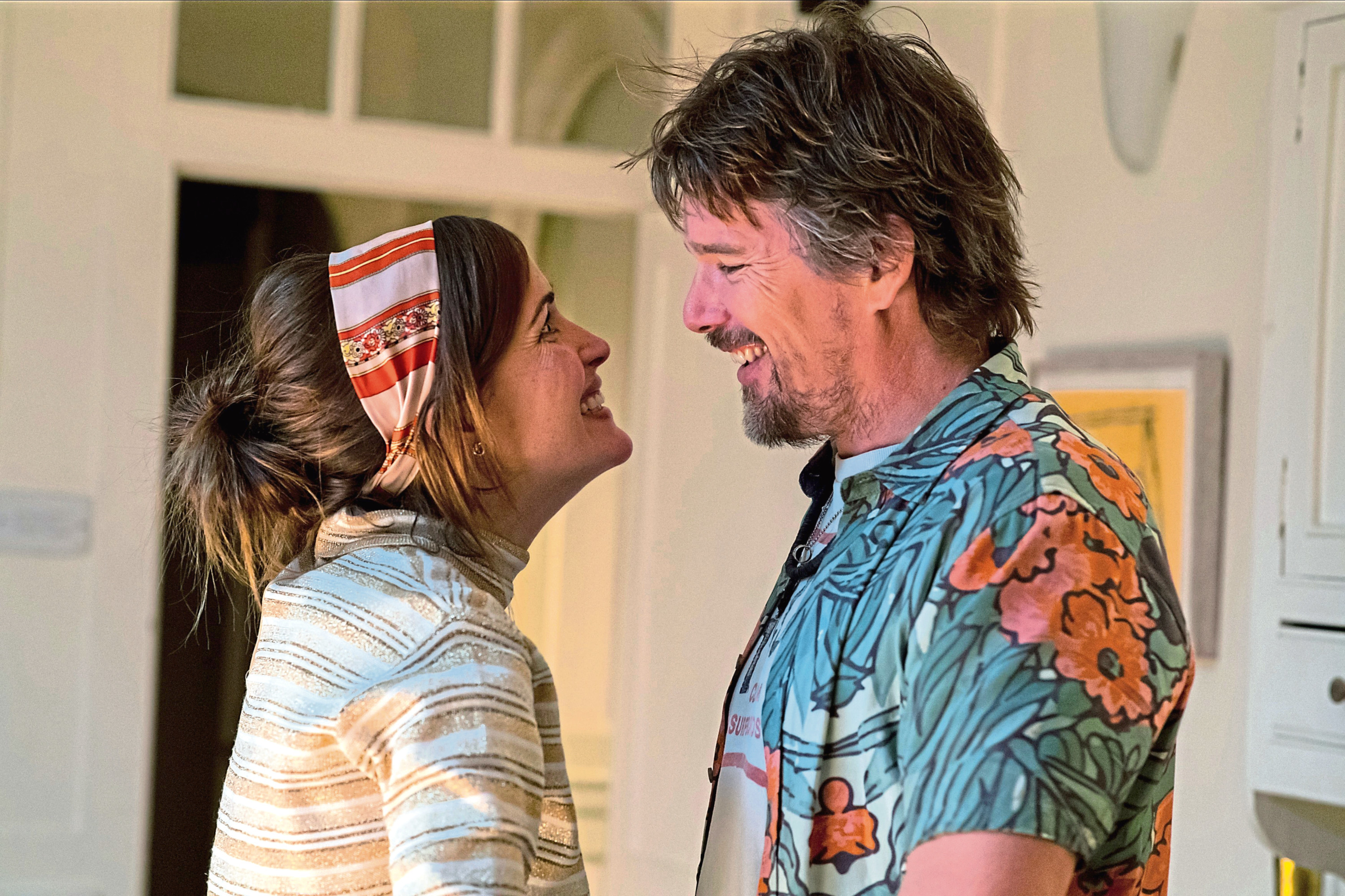 Rose Byrne and Ethan Hawke star in Juliet, Naked