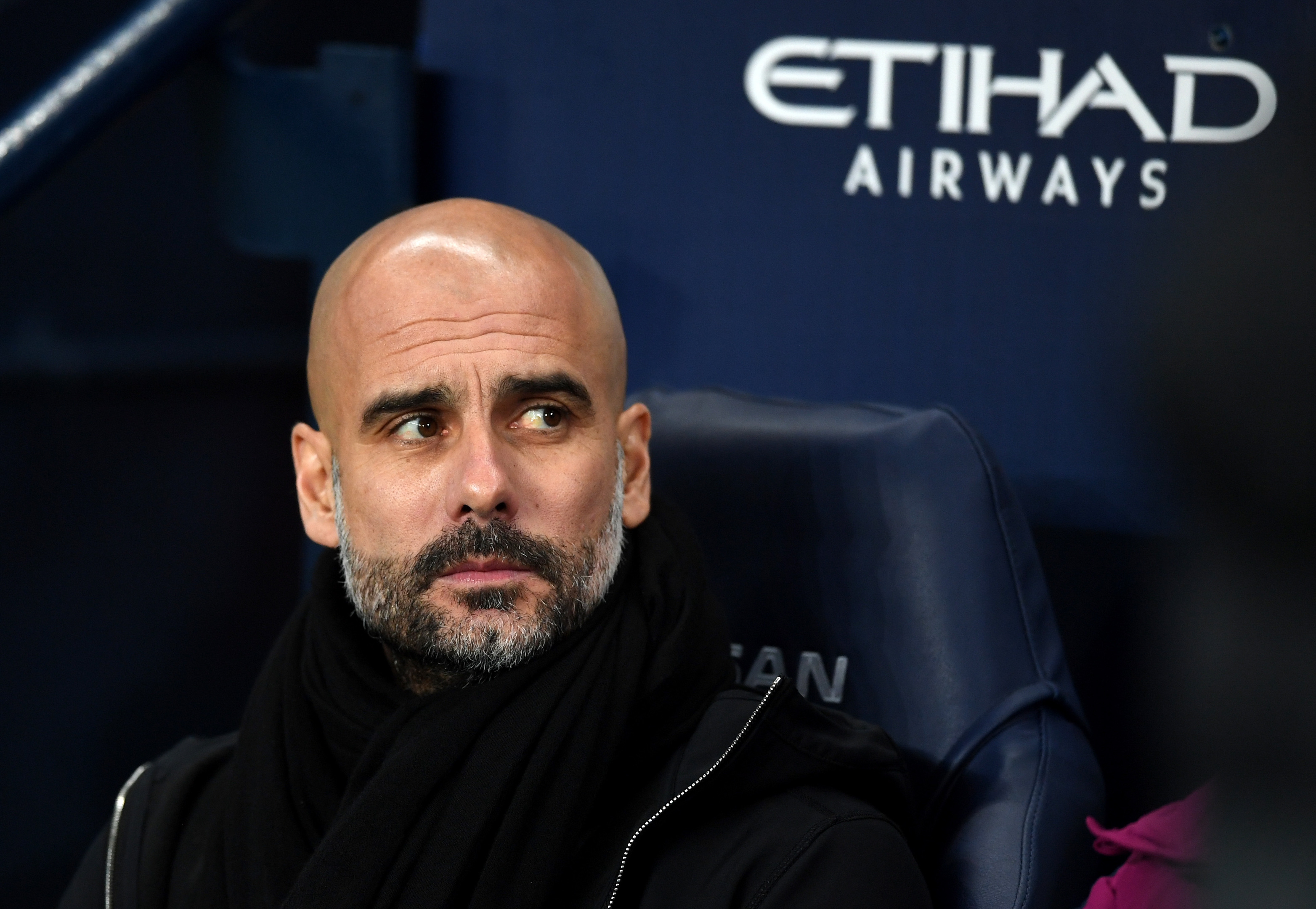 Manchester City boss Pep Guardiola (Gareth Copley/Getty Images)
