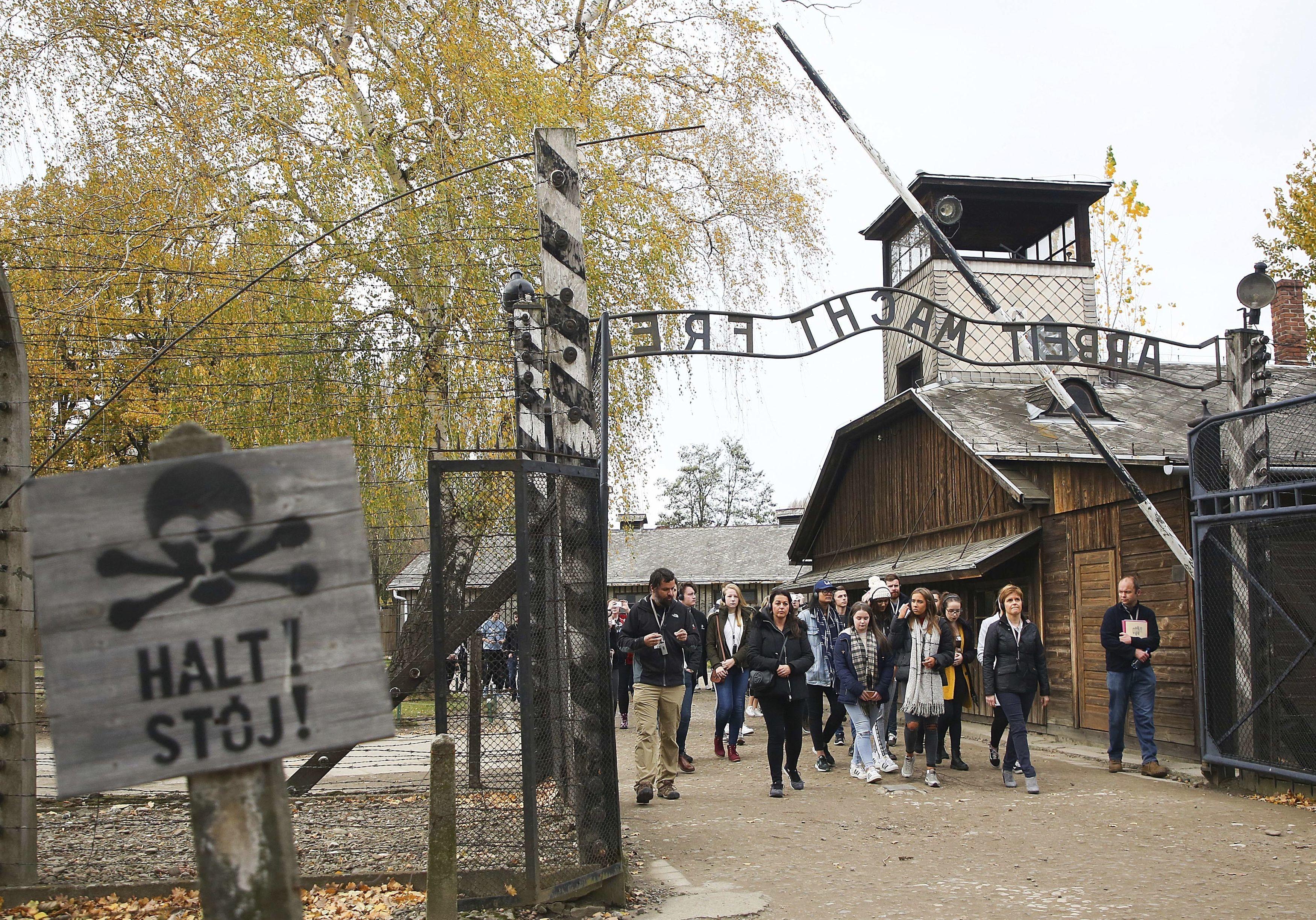 Auschwitz-Birkenau (AP Photo/Beata Zawrzel)