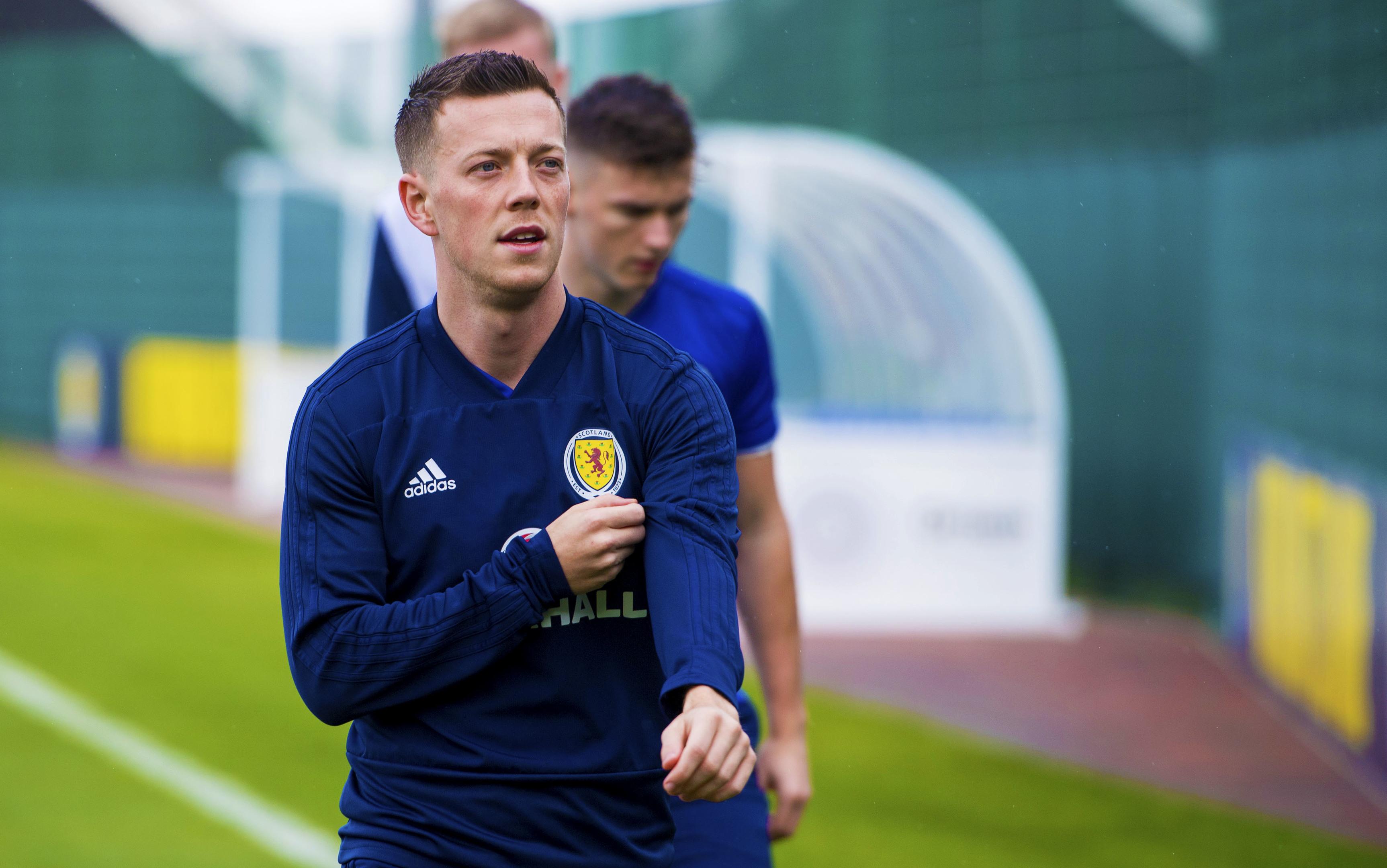 Scotland midfielder Callum McGregor (SNS Group / Ross MacDonald)