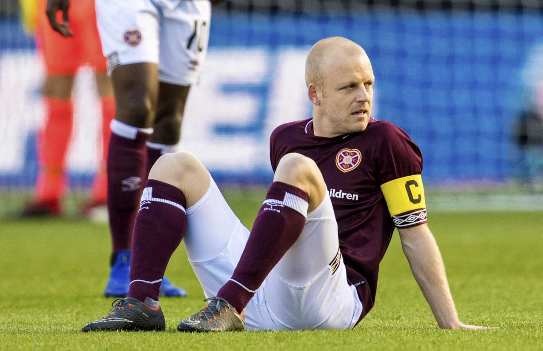 Hearts' Steven Naismith (SNS Group / Alan Harvey)
