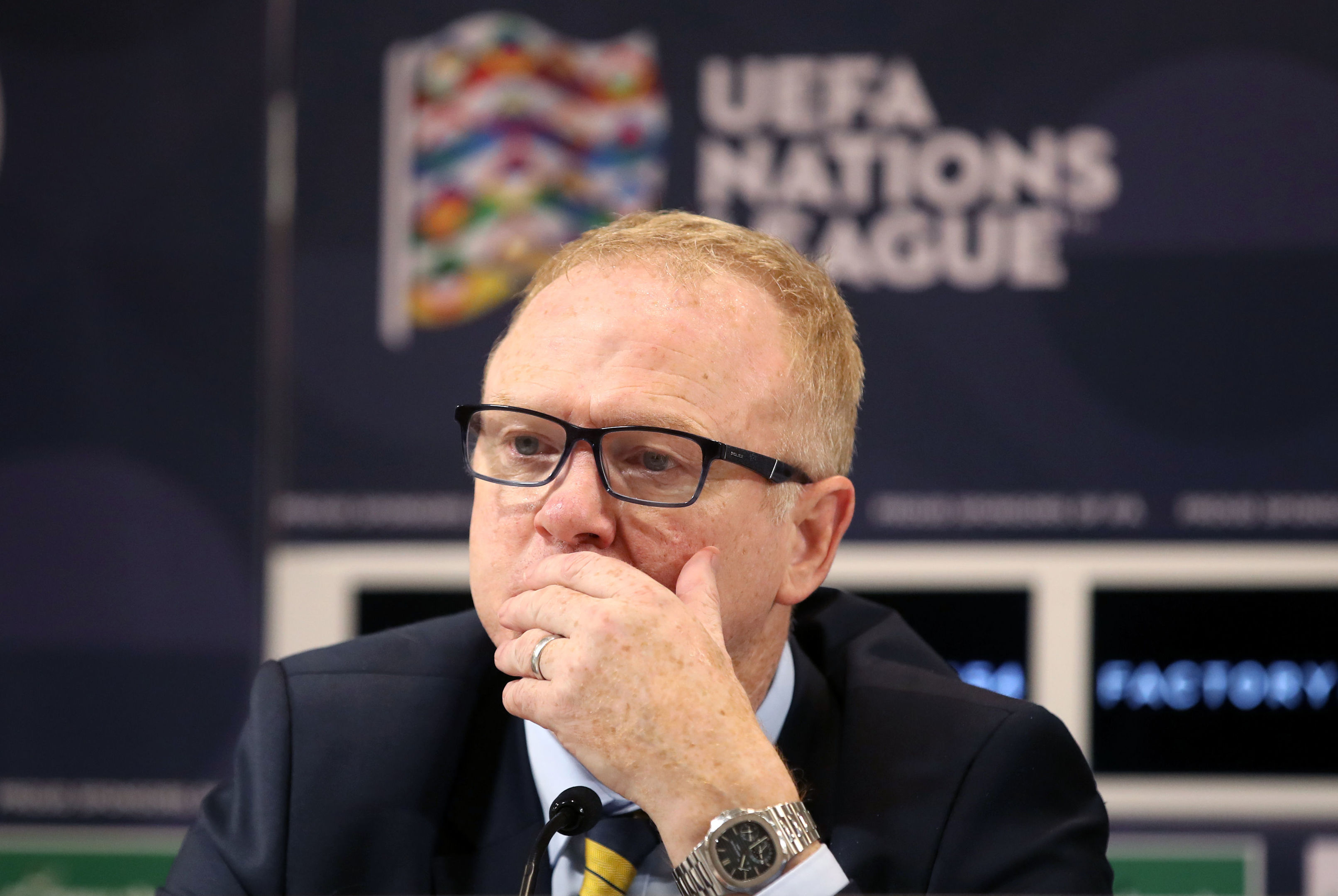 Alex McLeish (Adam Davy/PA Wire)