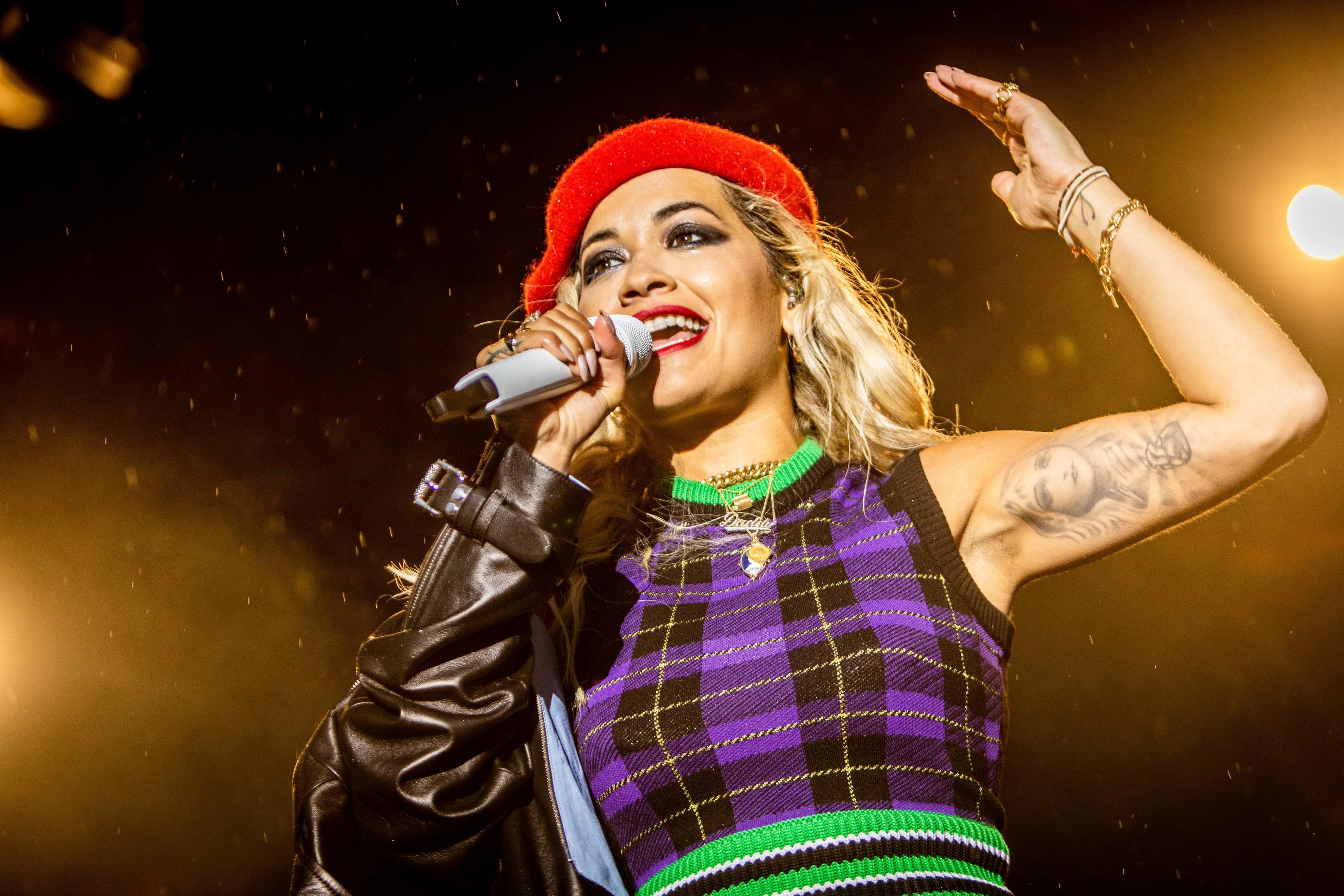 Rita Ora performs at Slessor Gardens, Dundee. (Evening Telegraph)