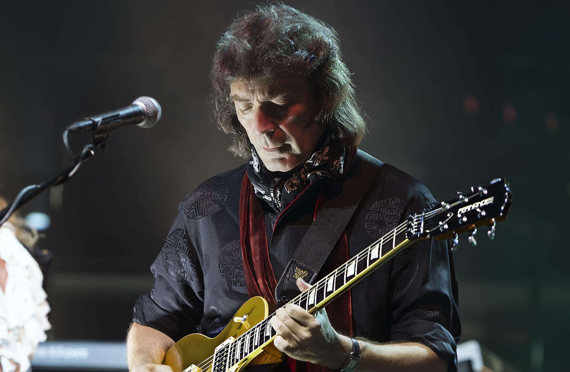 Steve Hackett on stage