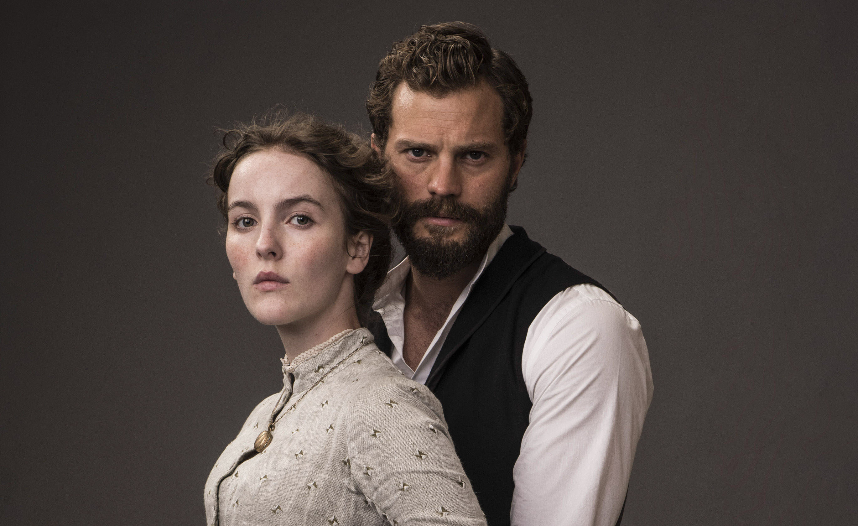 Jamie Dornan and Ann Skelly in Death and Nightingales (Night Flight Pictures / Helen Sloan / BBC)