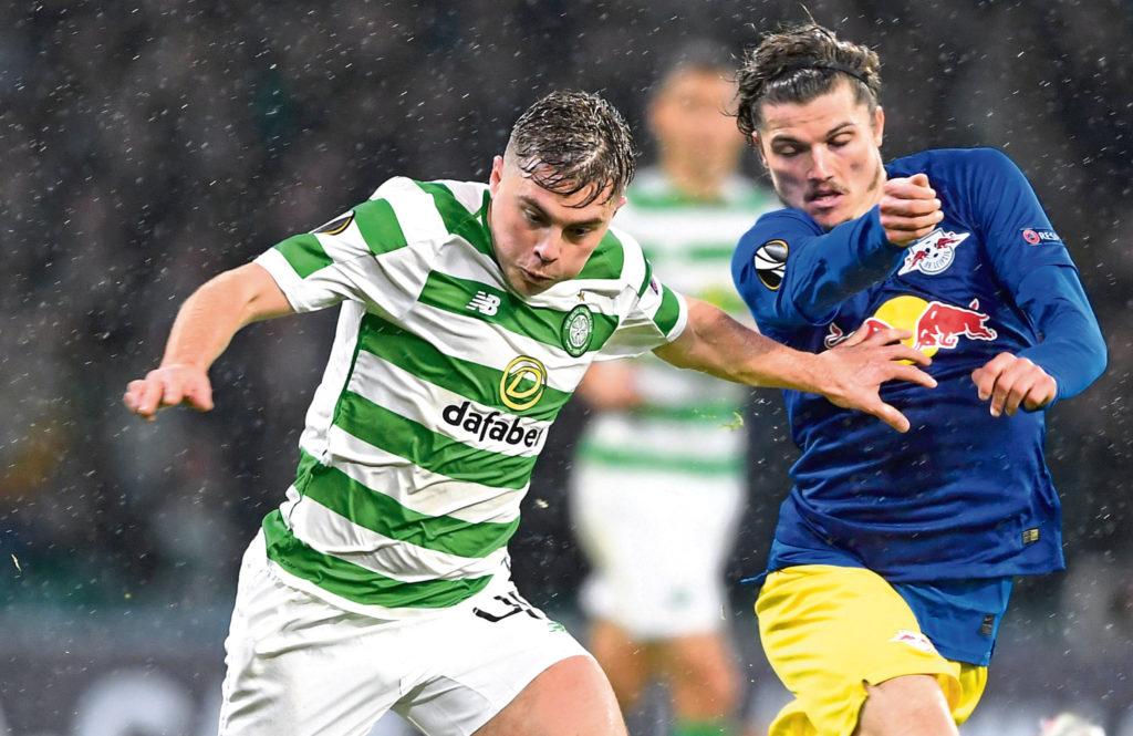 Celtic winger James Forrest's Euro vision is still sharply in focus