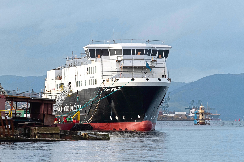 MV Glen Sannox