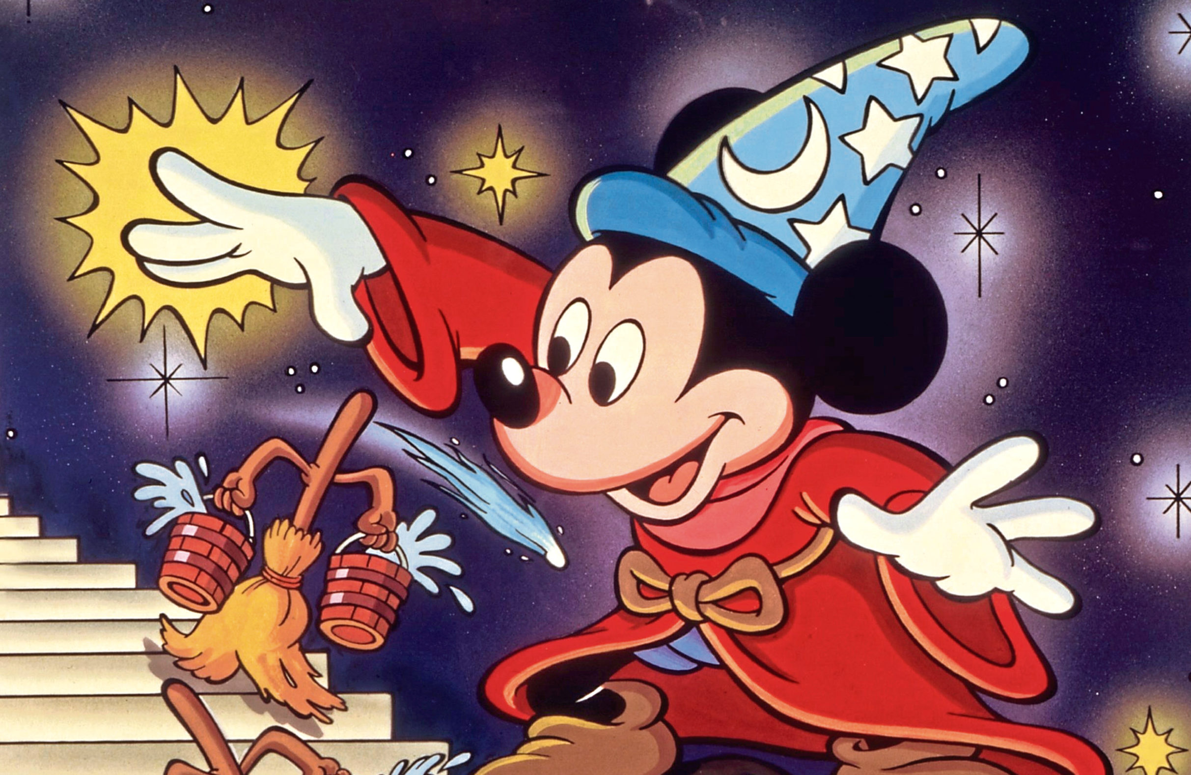Mickey Mouse in Fantasia, 1940 (Allstar/DISNEY)
