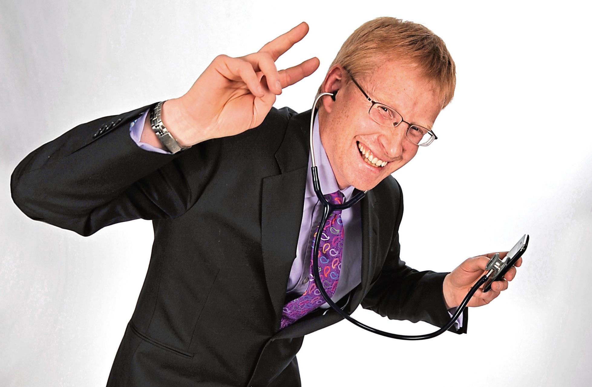 Dr Phil Hammond is heading on tour (Steve Ullathorne)