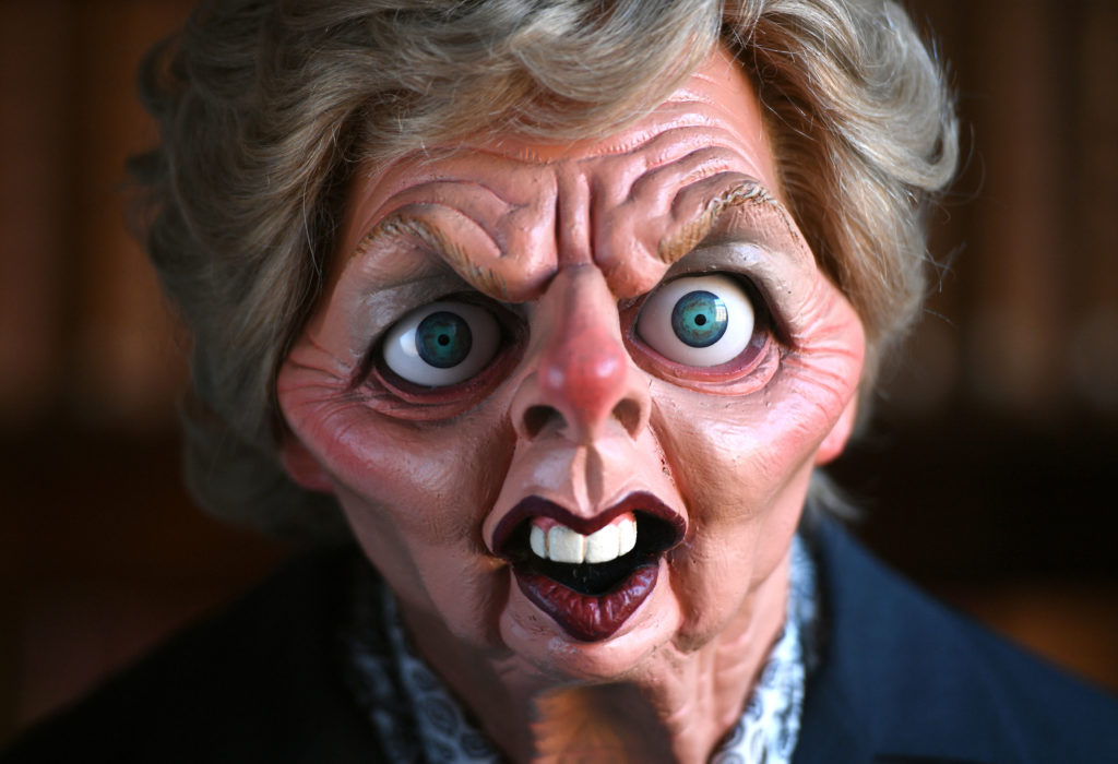 In pictures: Spitting Image collection enters Cambridge University archives
