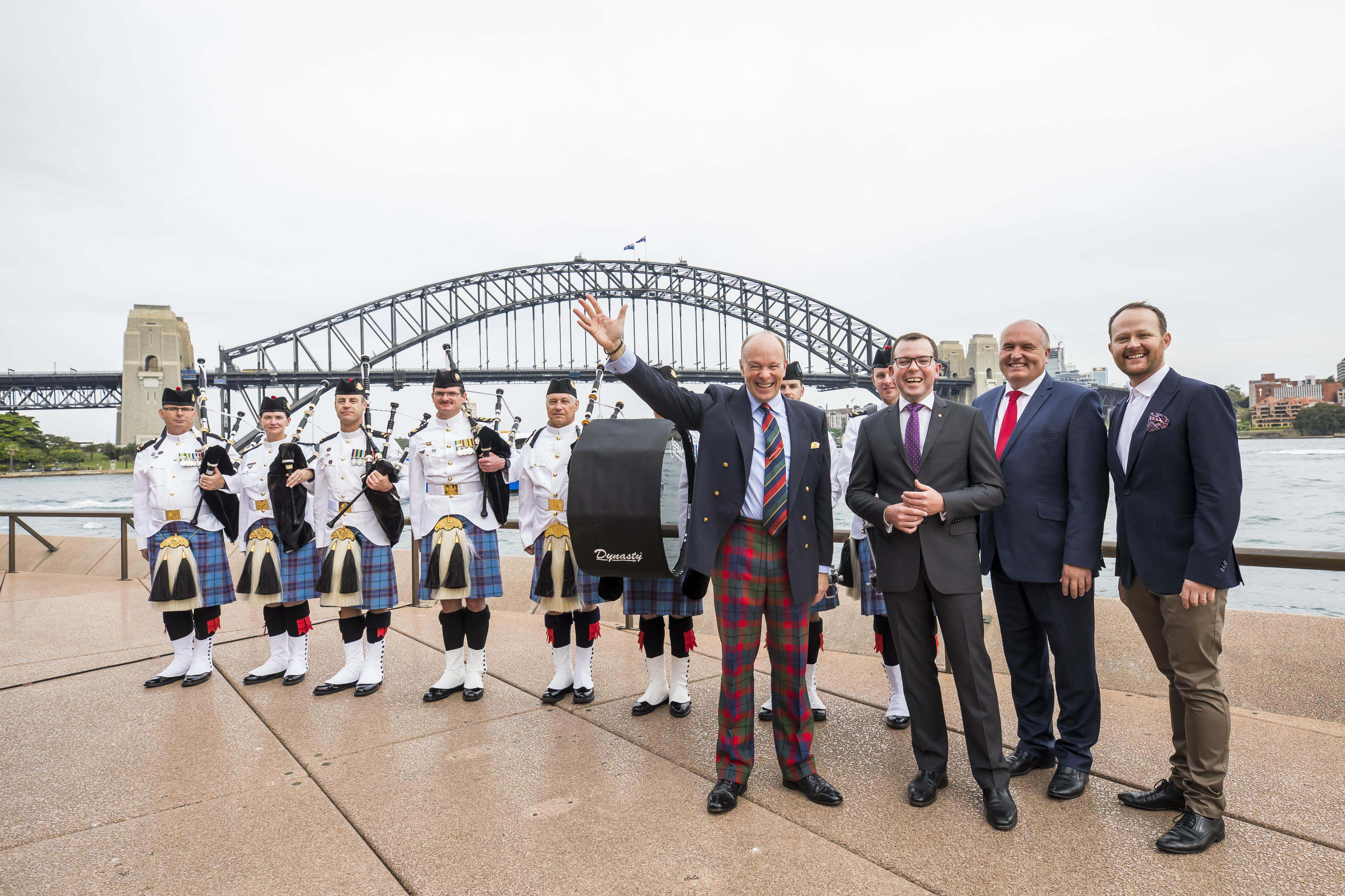 The Royal Edinburgh Military Tattoo has announced that it will stage a four-night showcase in Sydney next year (Anna Kucera)
