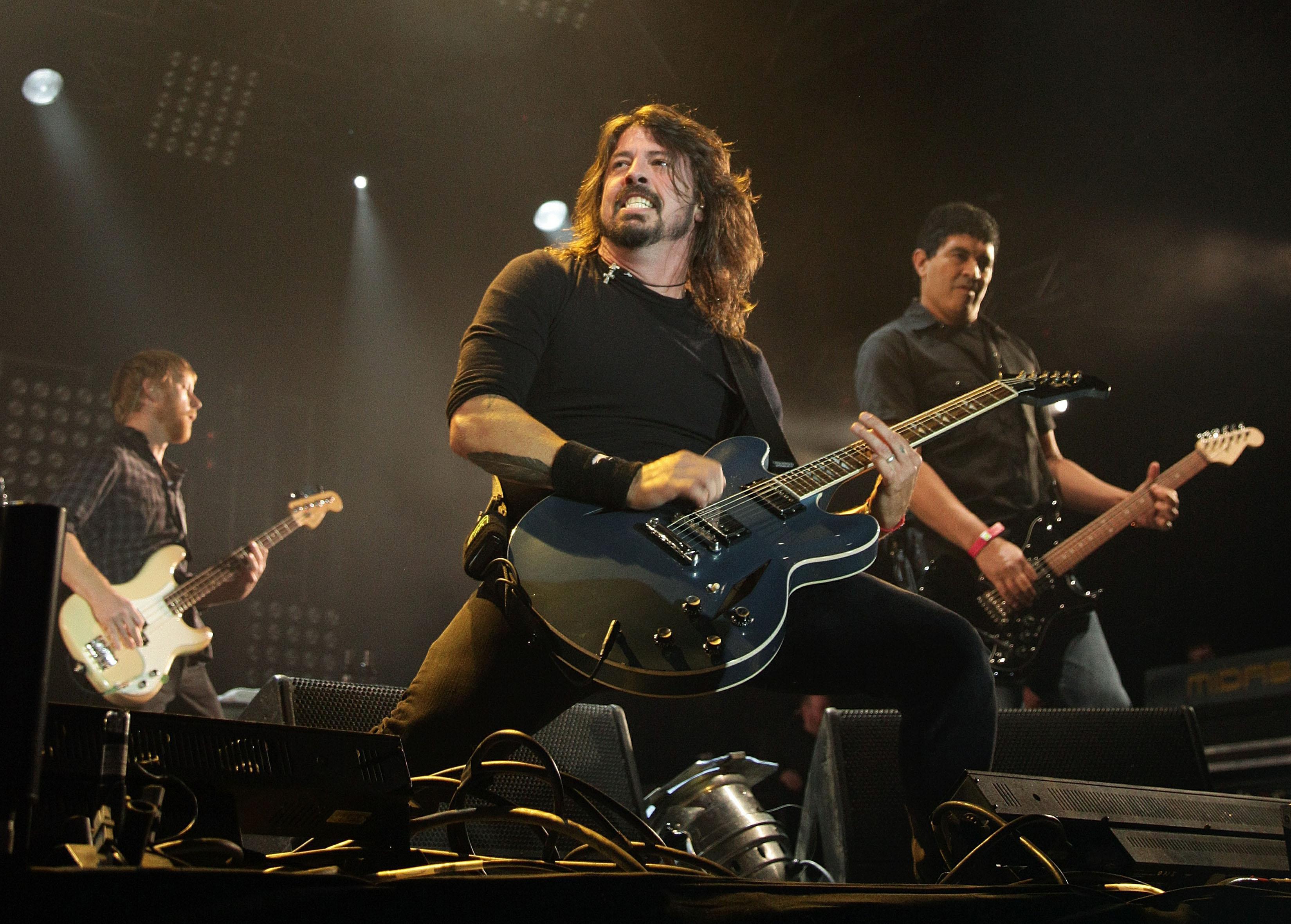 Foo Fighters (Yui Mok/PA Wire)