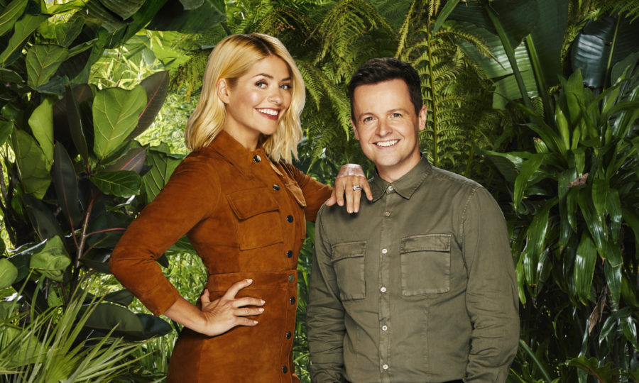 Holly Willoughby catches the sun after I'm A Celebrity debut